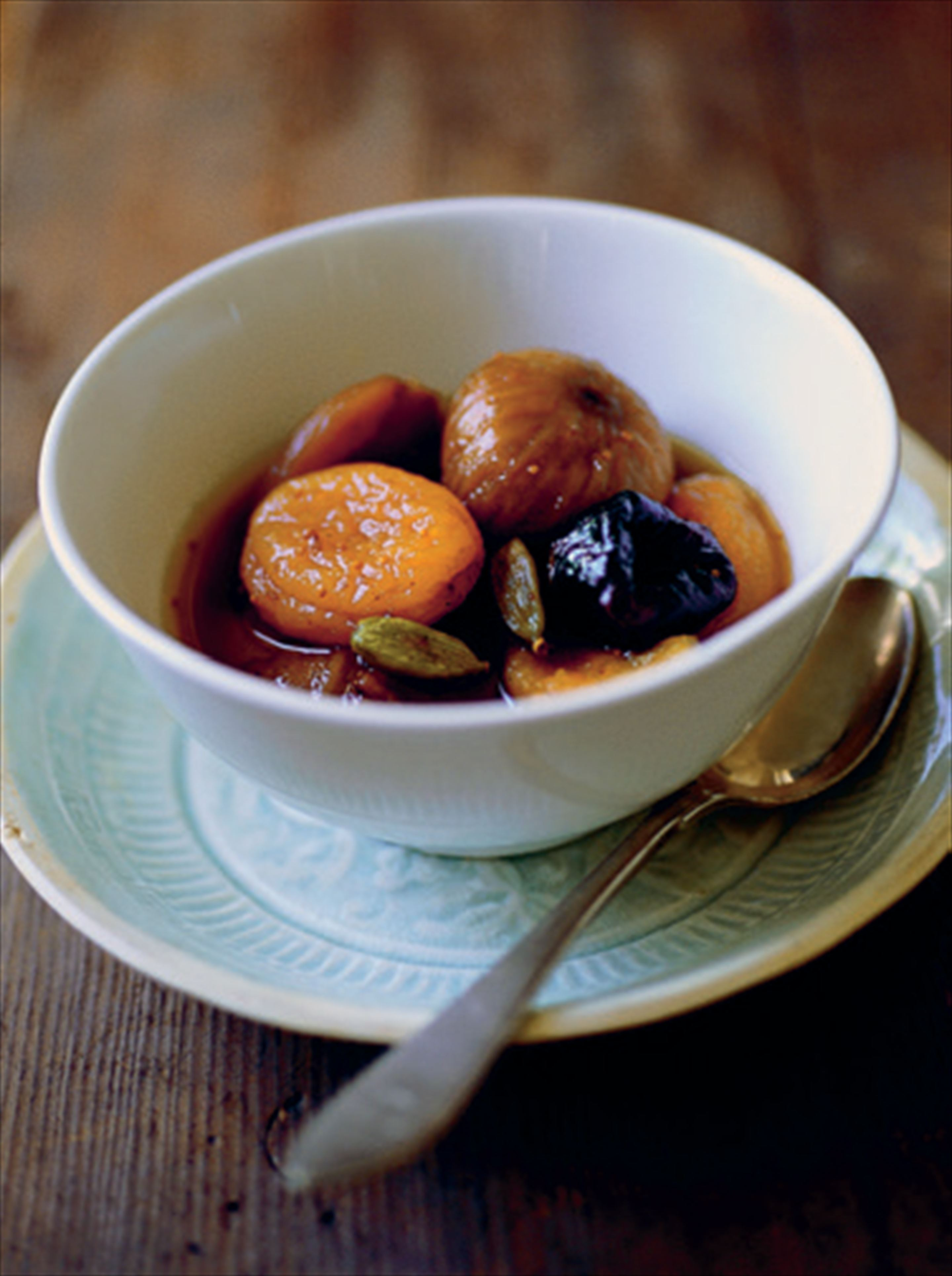Spicy dried fruit compote with Earl Grey tea and more