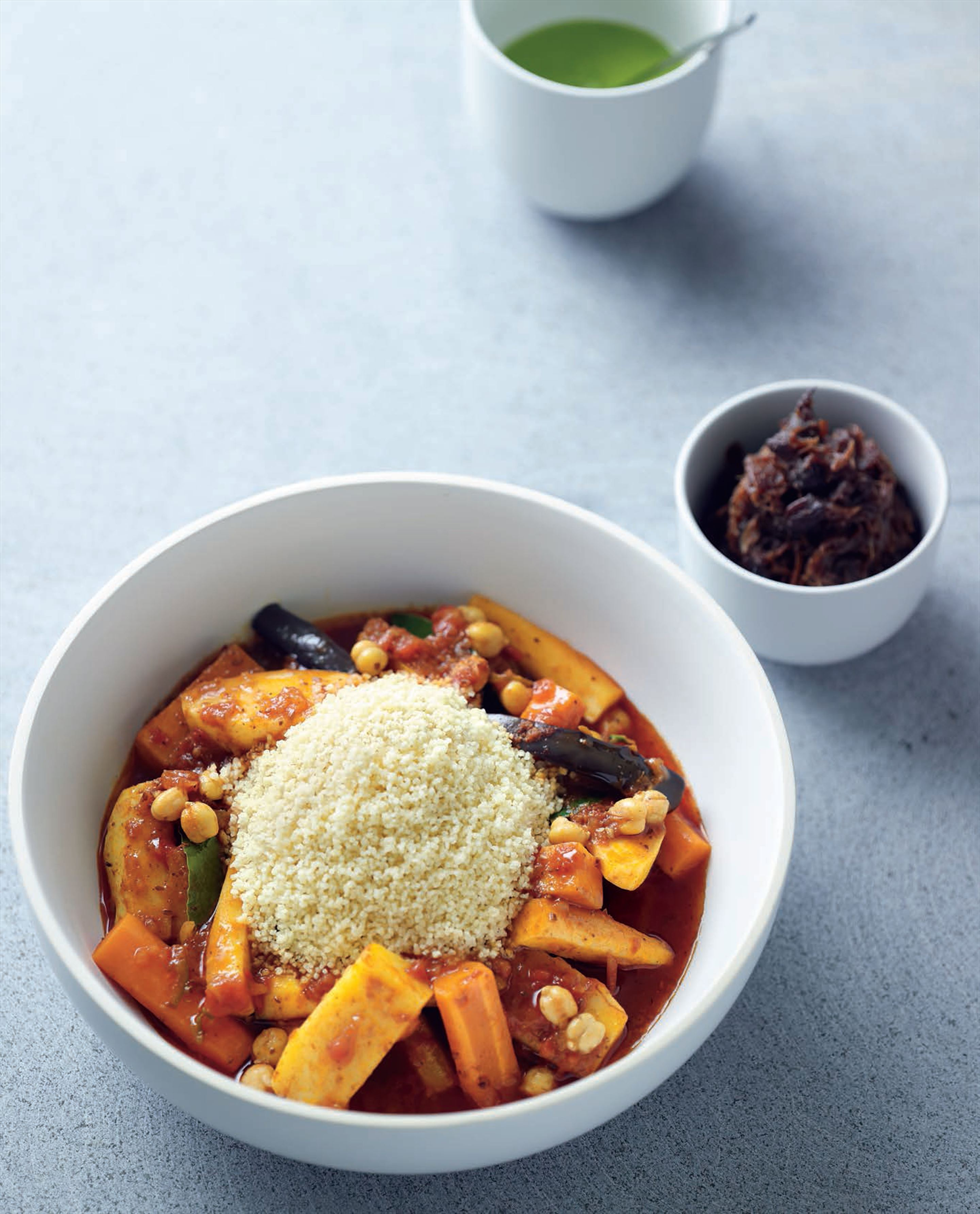 Seven-vegetable tagine