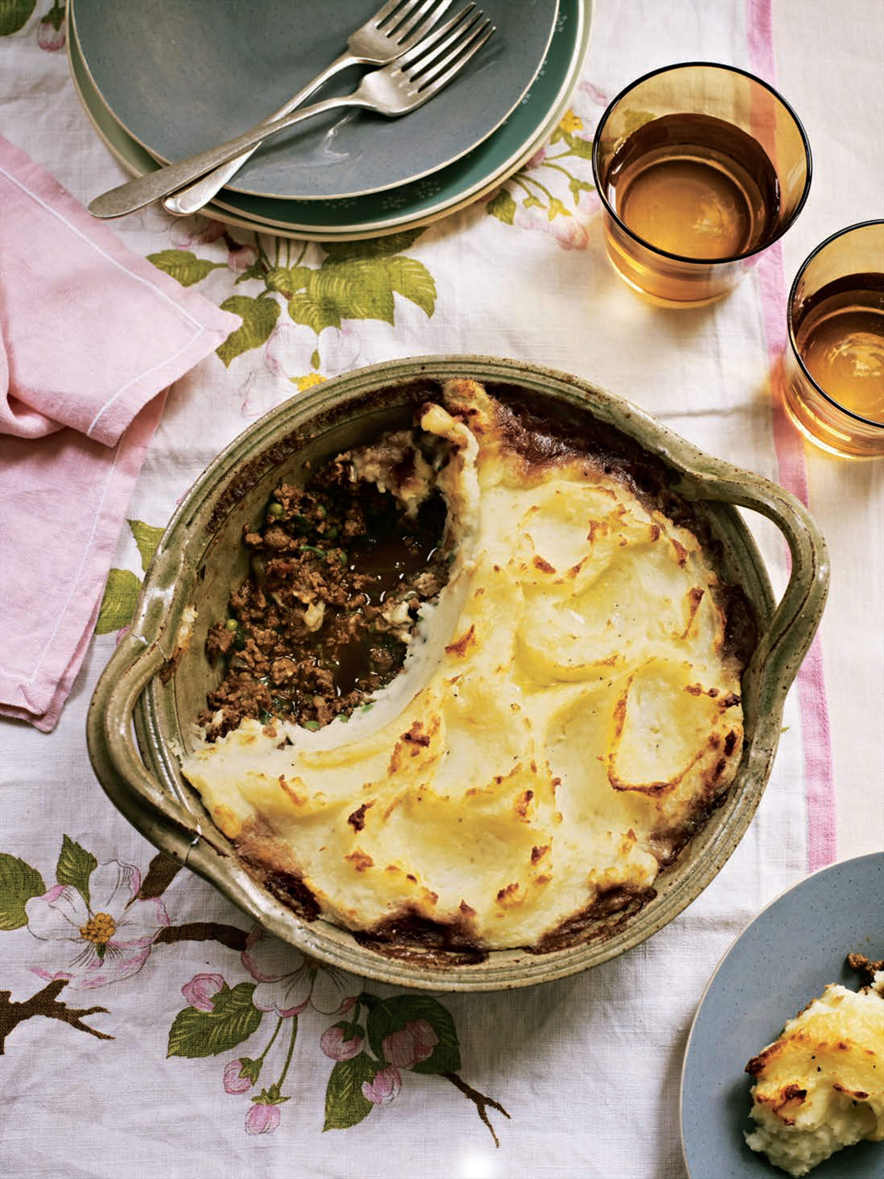 Luscious spiced cottage pie