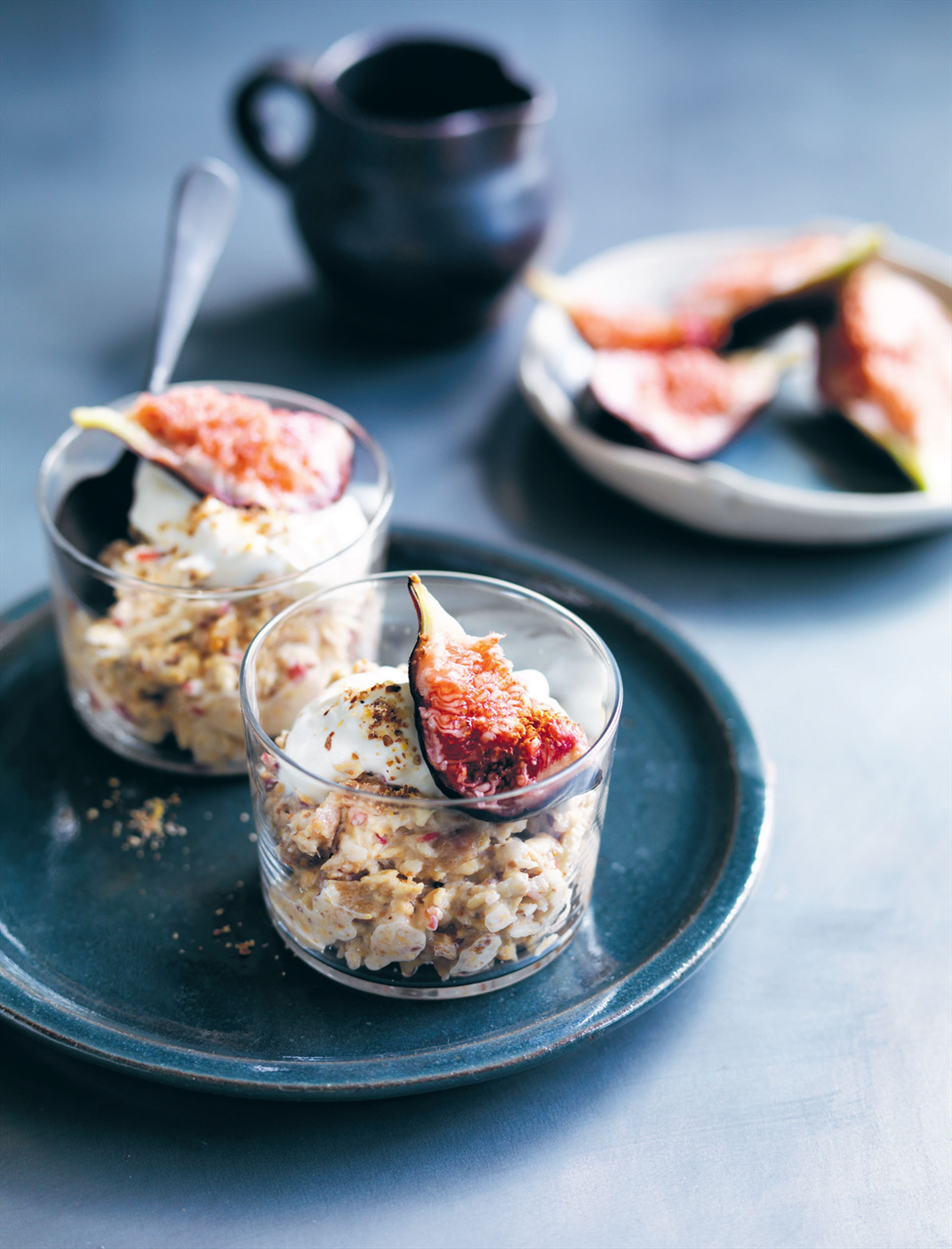 Fig bircher muesli