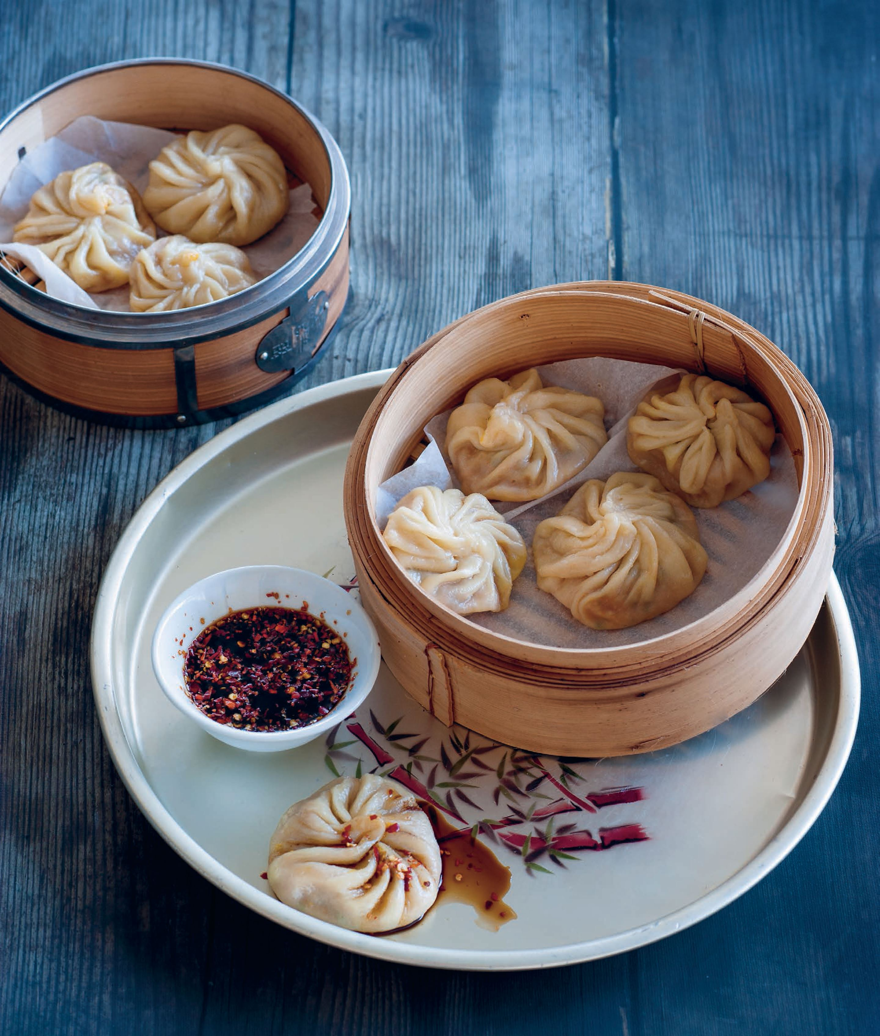 Steamed pumpkin dumplings
