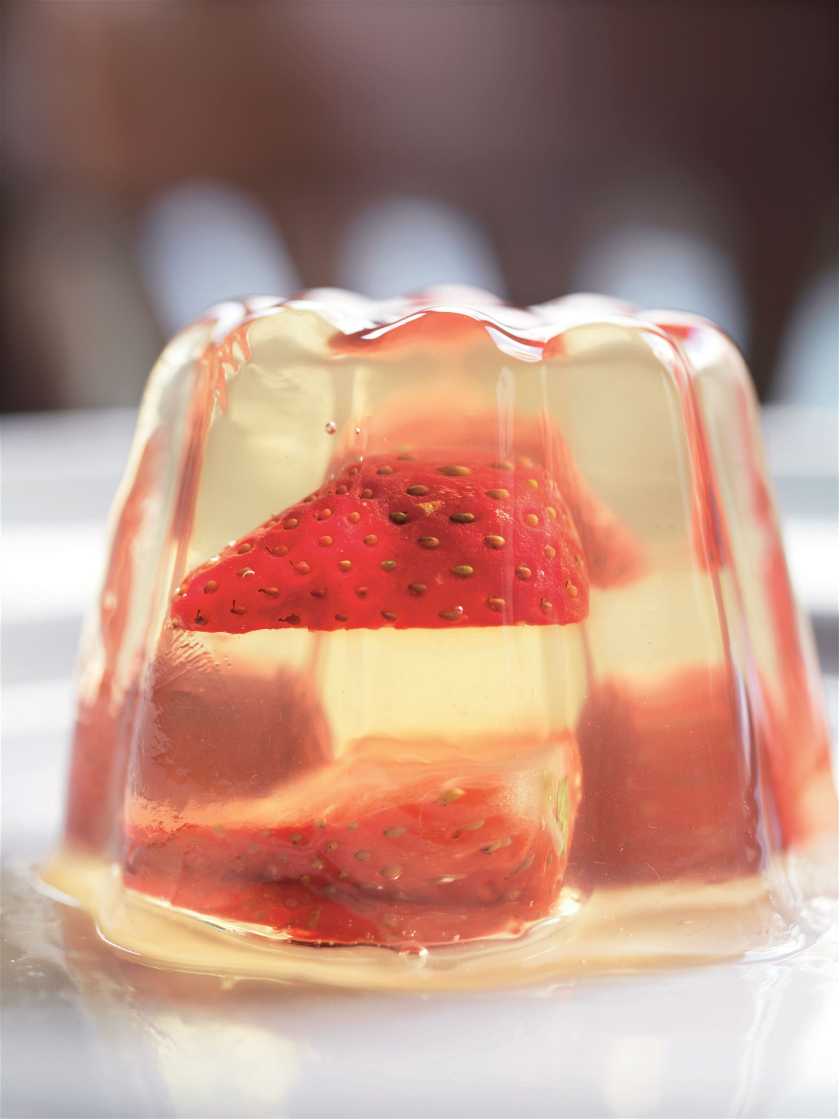 Strawberry and sparkling wine jelly