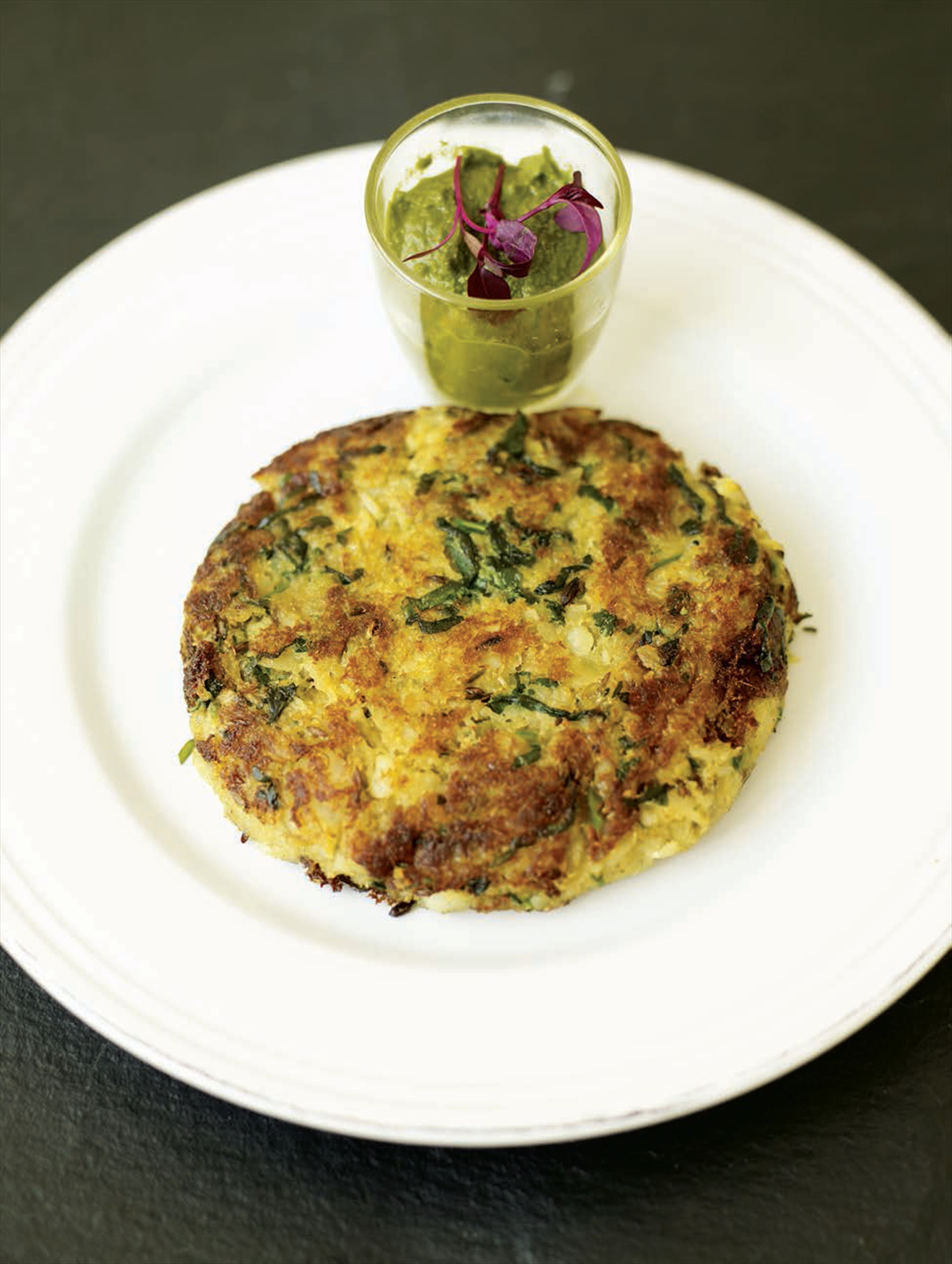 Bubble and squeak with leftover fish
