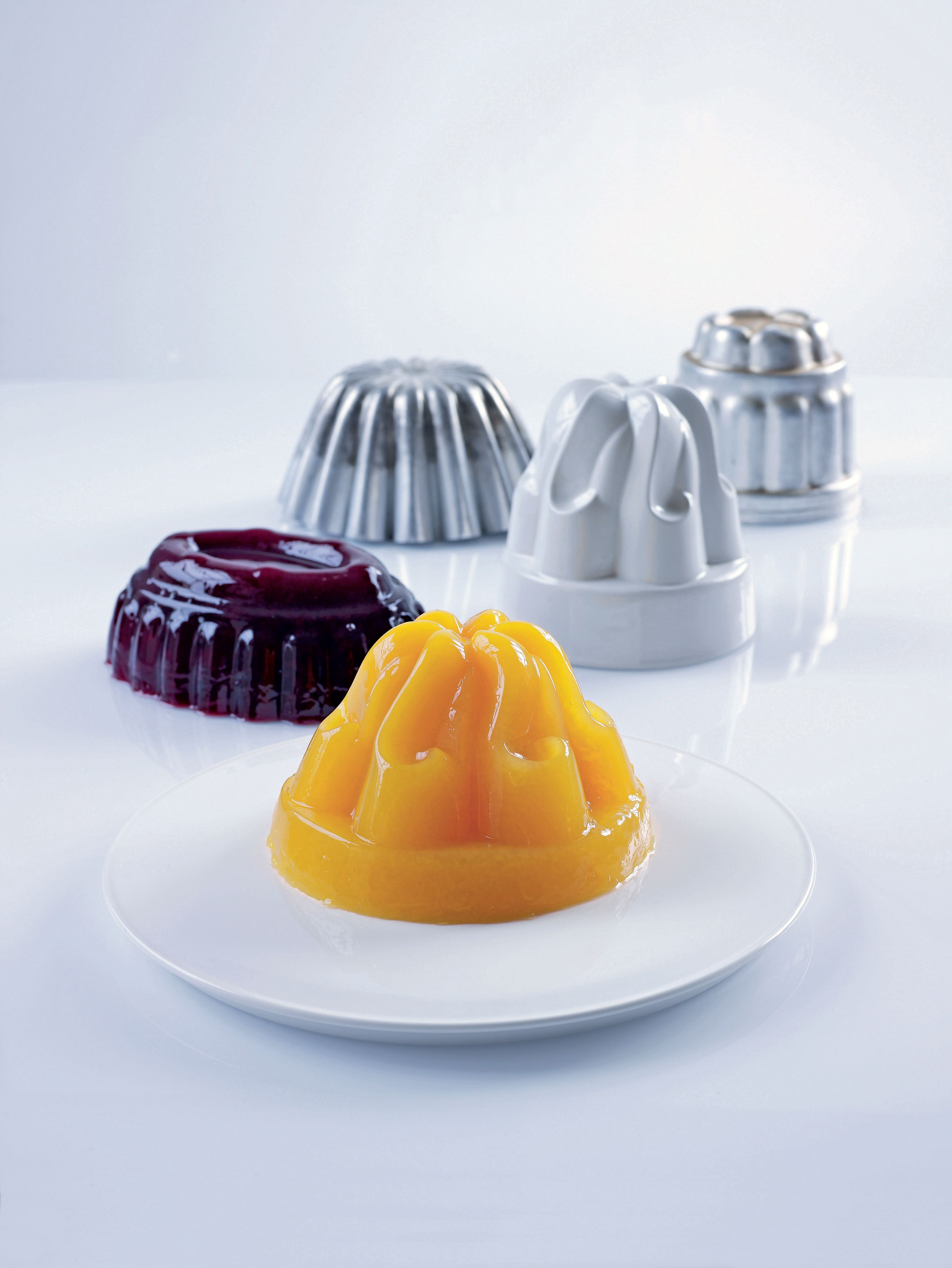 Orange and passion fruit jelly