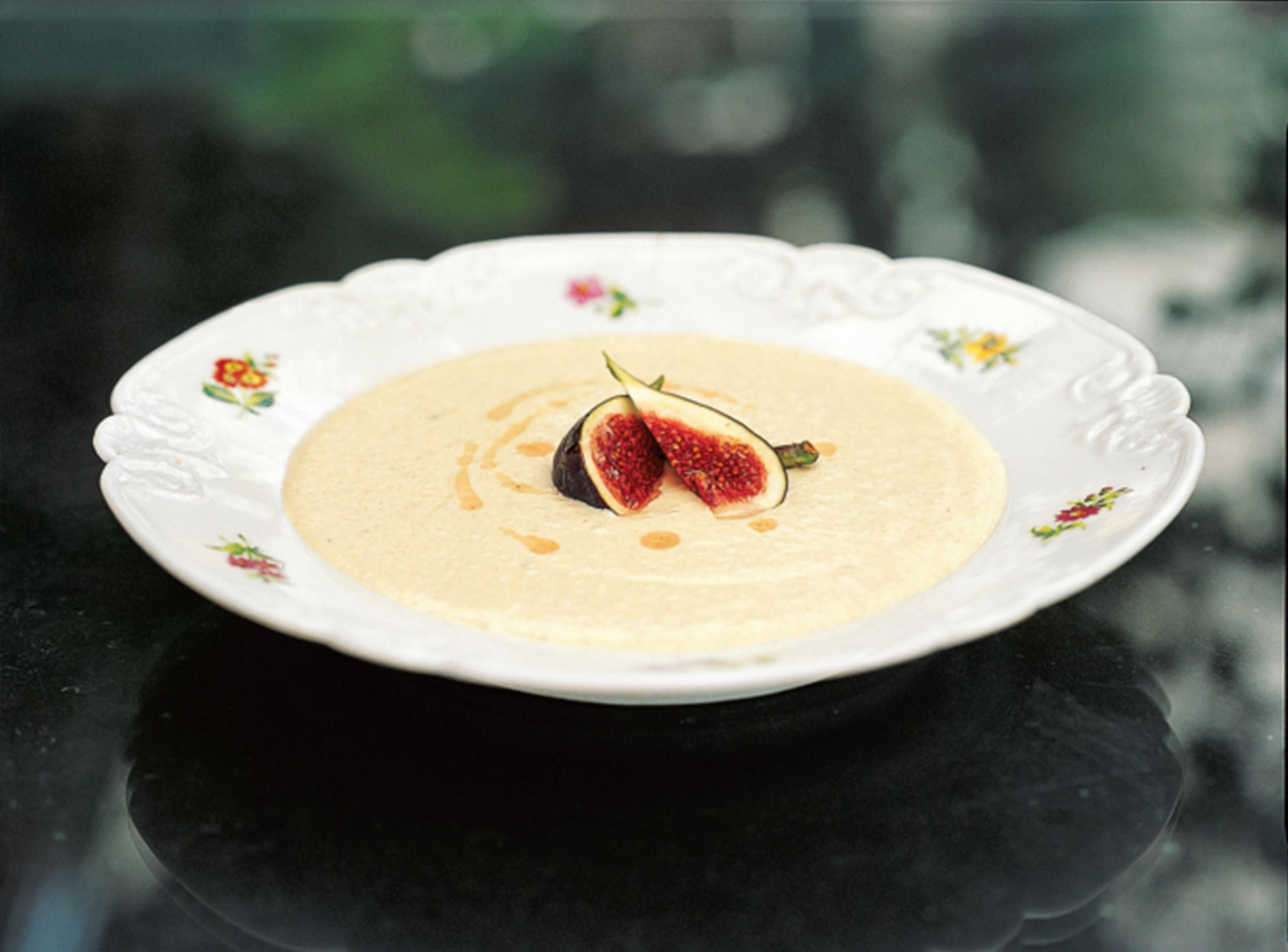 Chilled almond soup