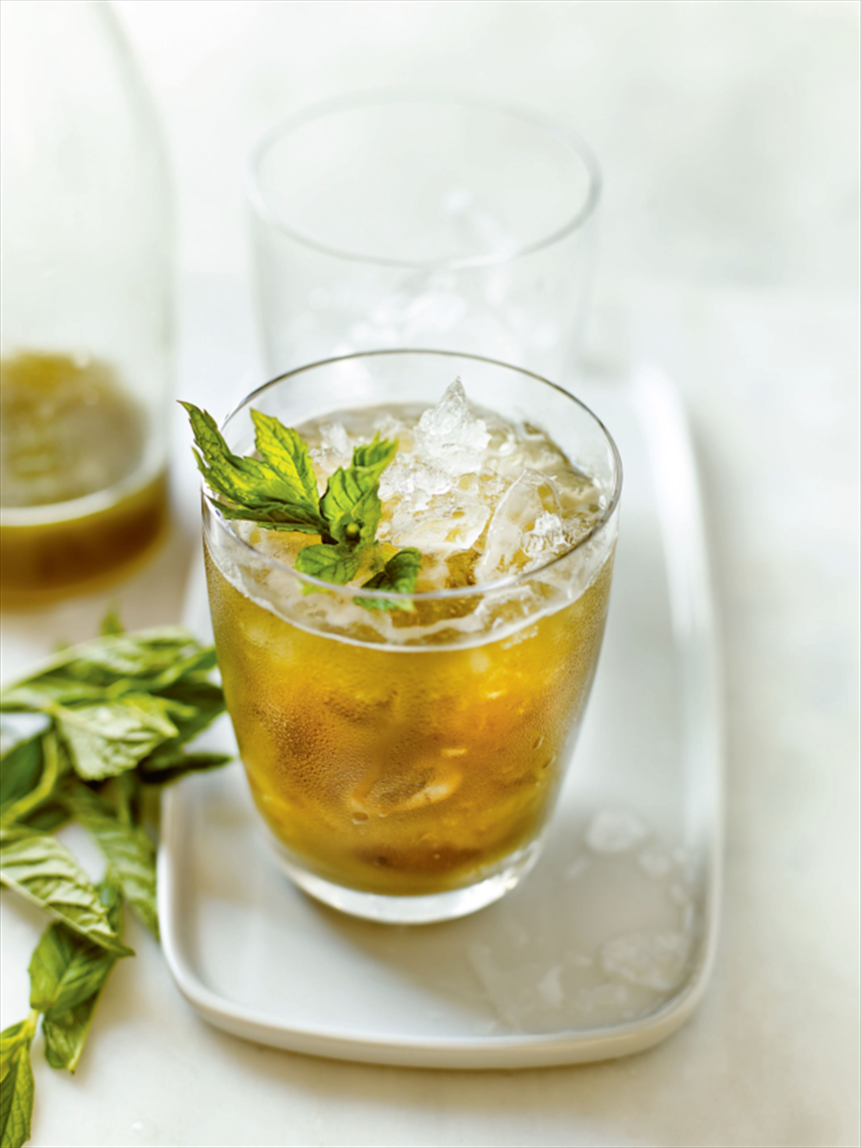 Ginger, celery and mint cooler