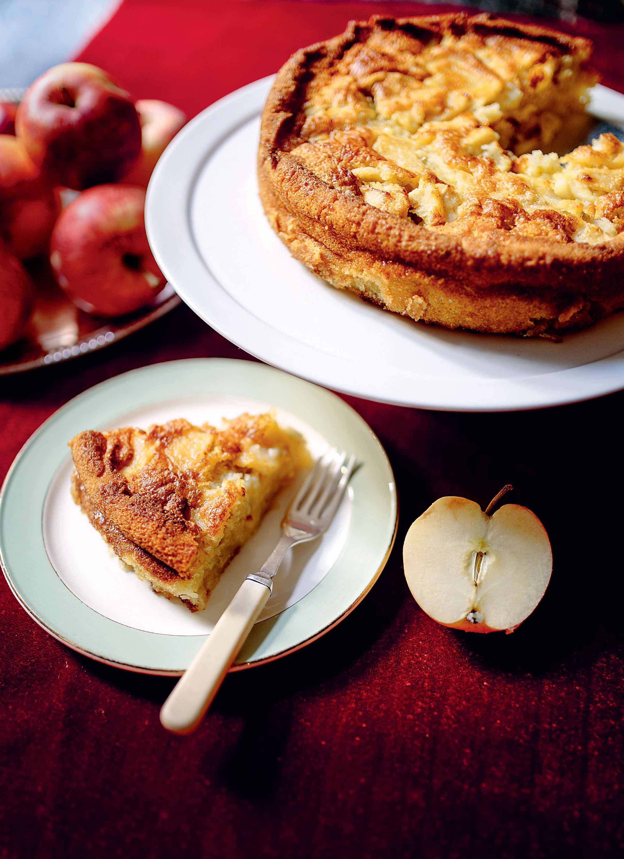 Aunt rose's apple cake