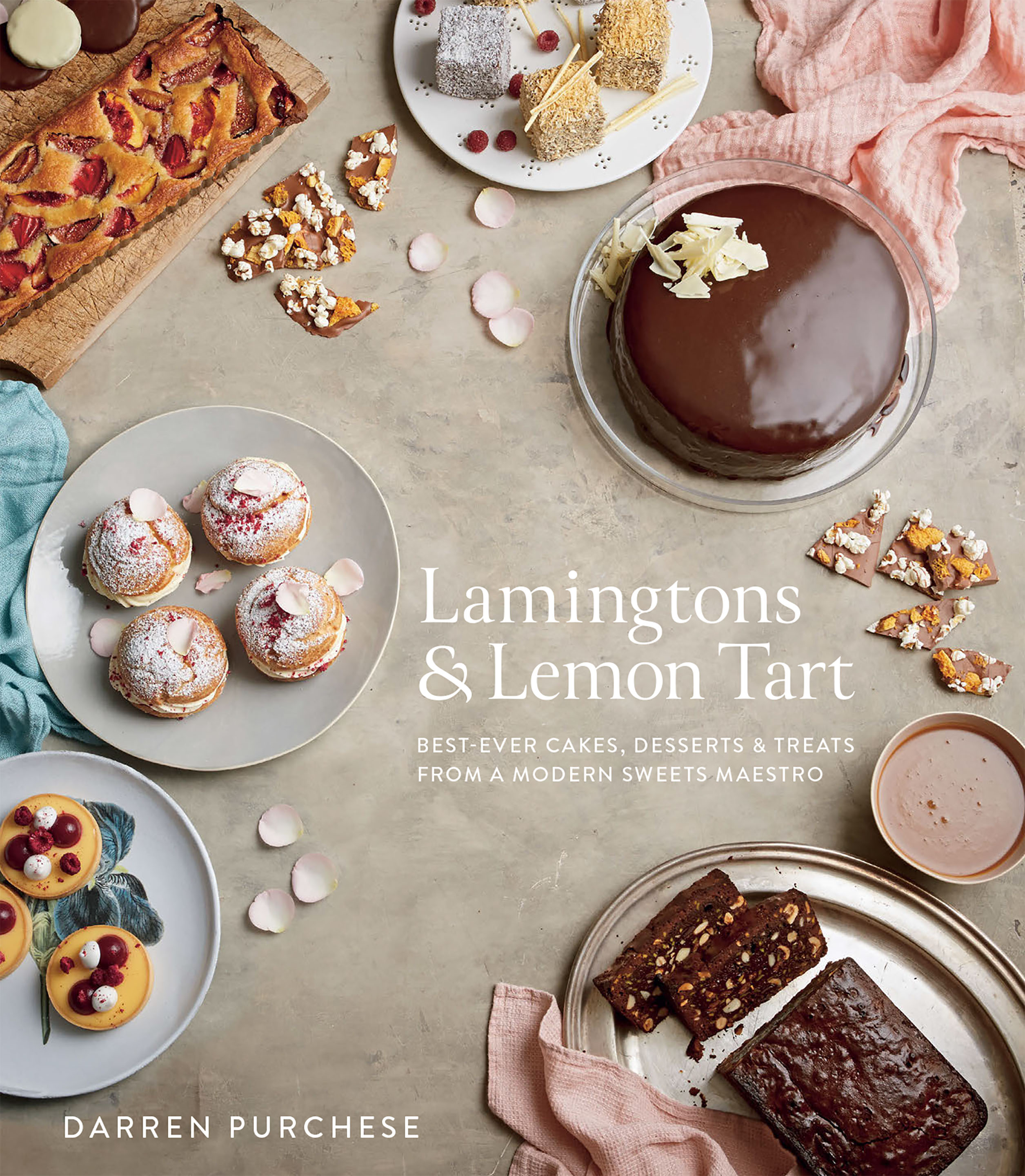 Lamingtons & lemon tart