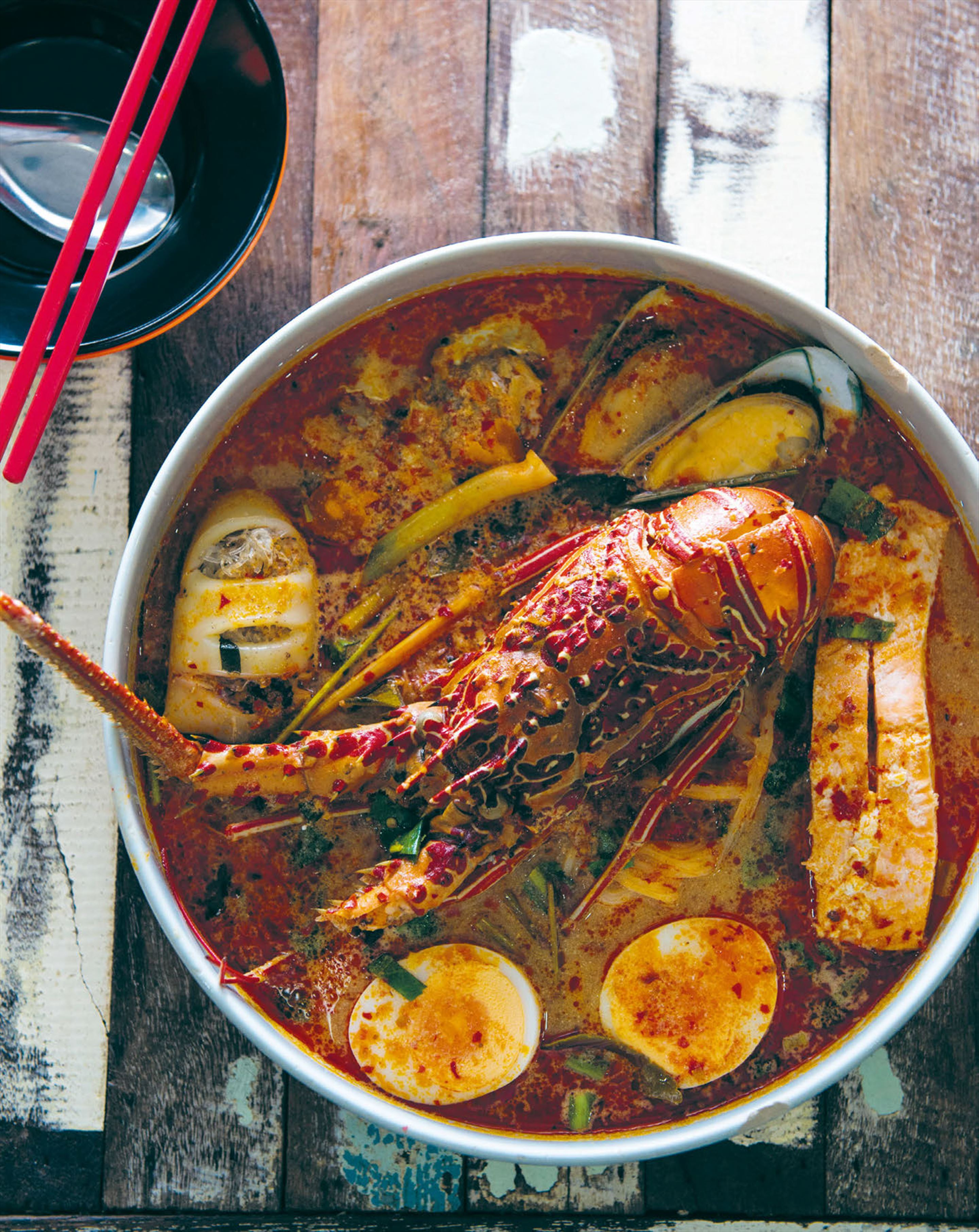 Lobster tom yum
