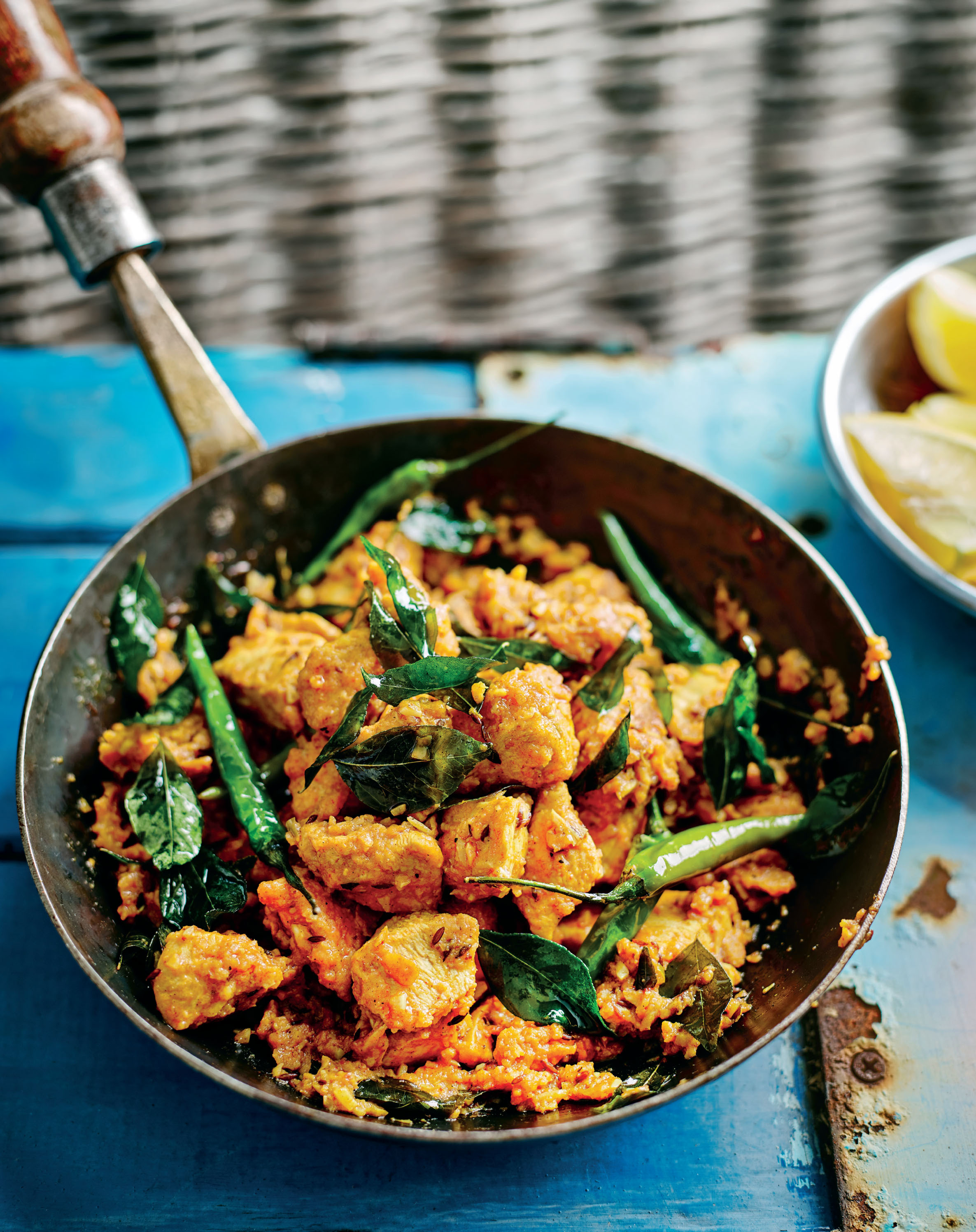 Andhra green chilli chicken 65