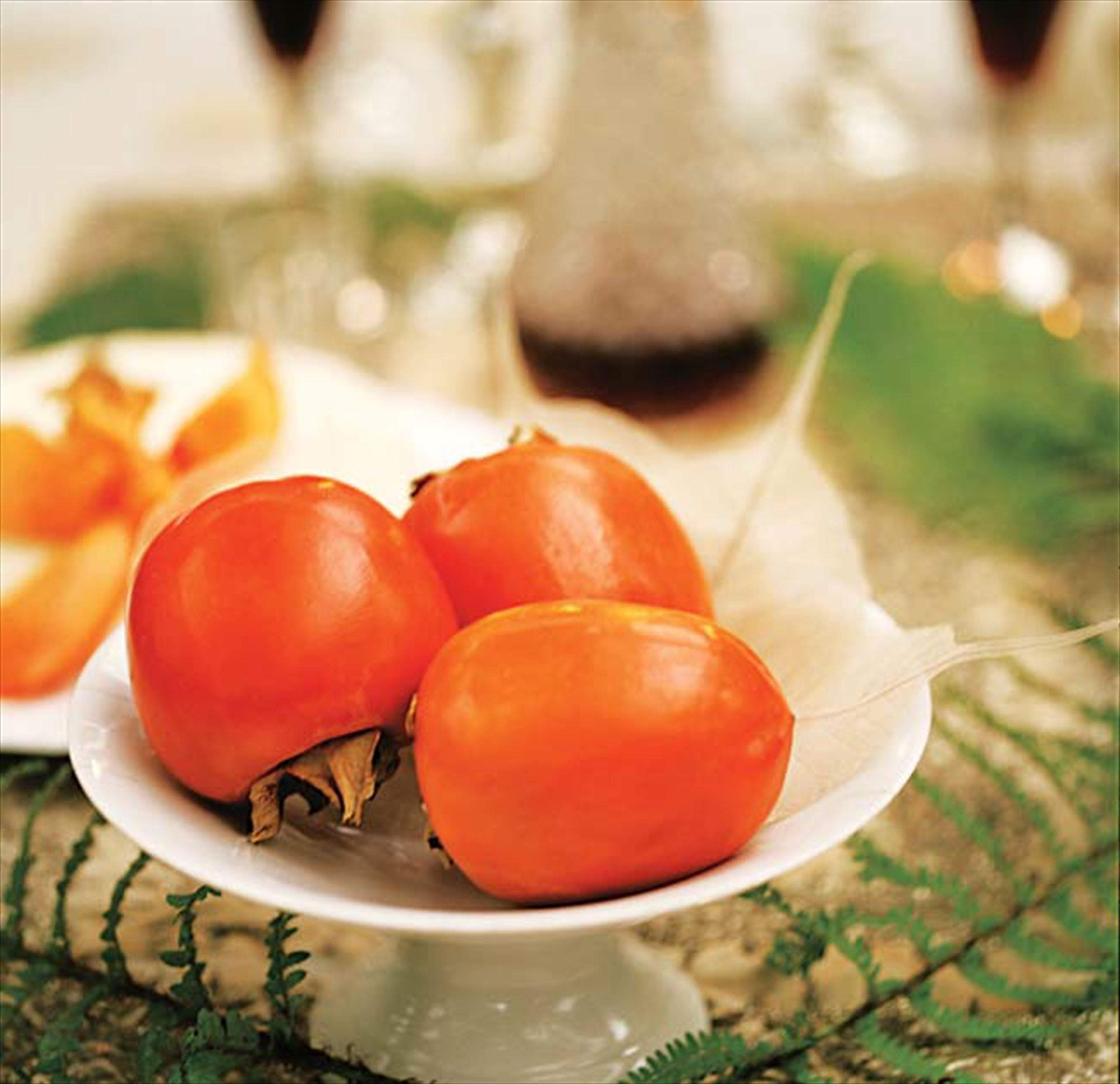 Roasted persimmons