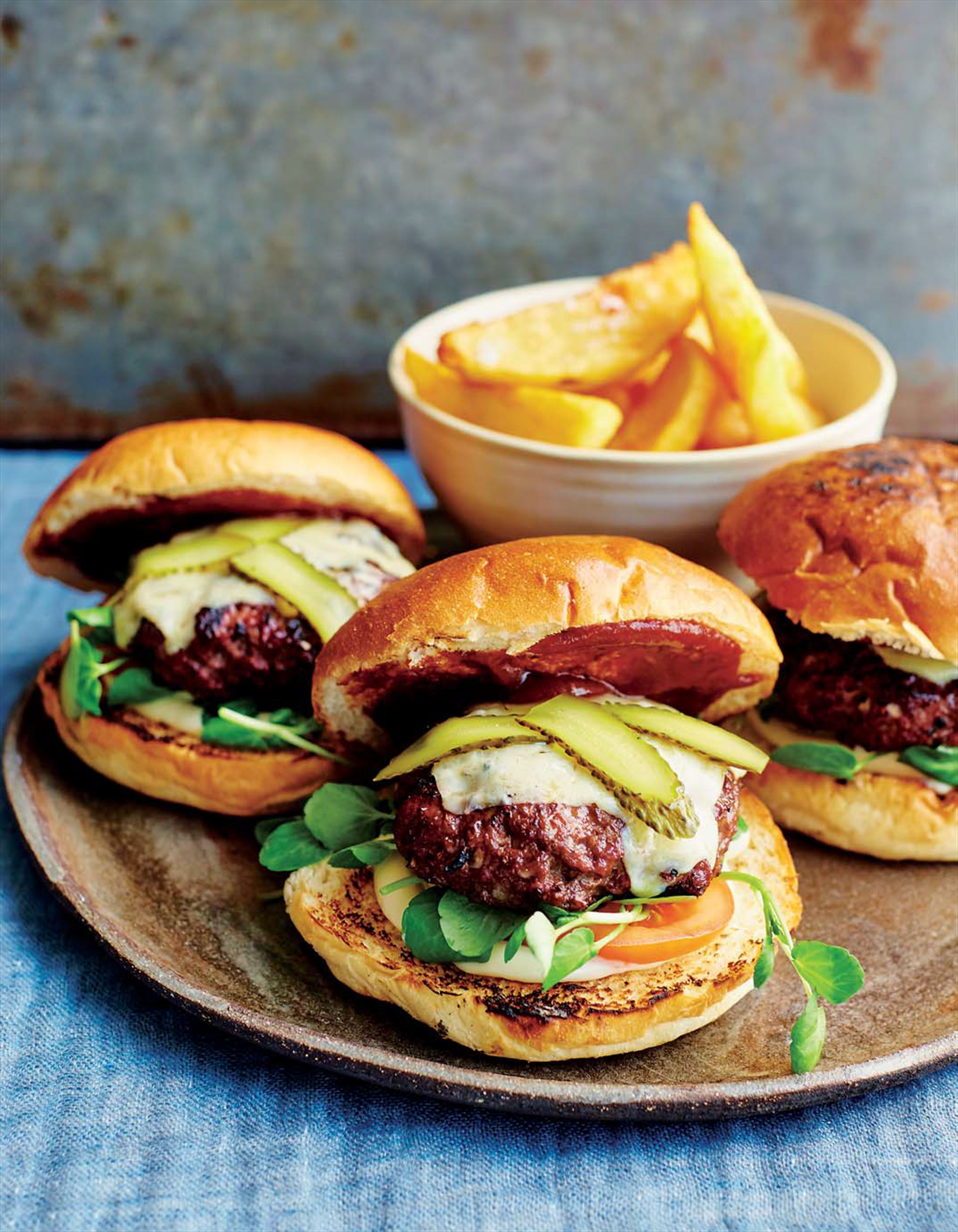 Burgers, the way we like them