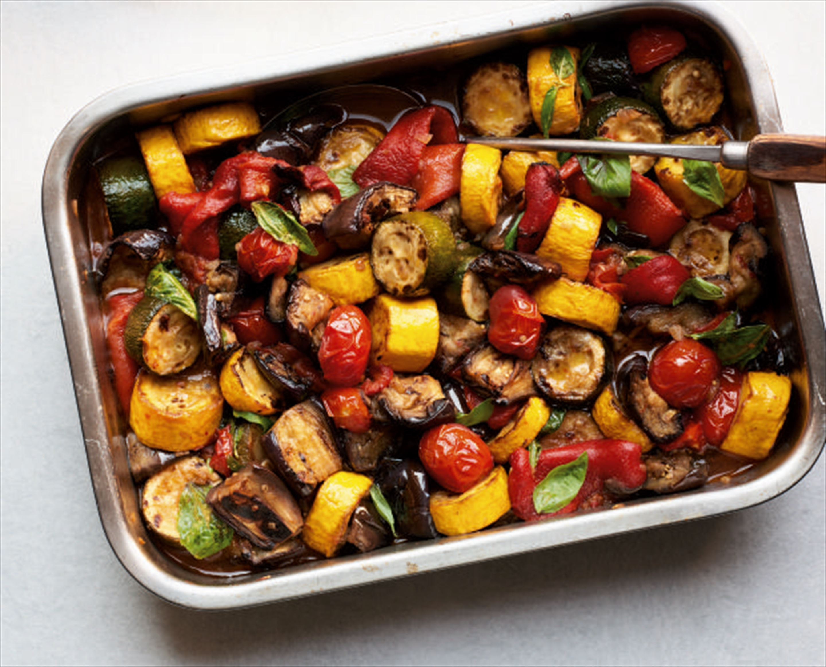 Smoky ratatouille