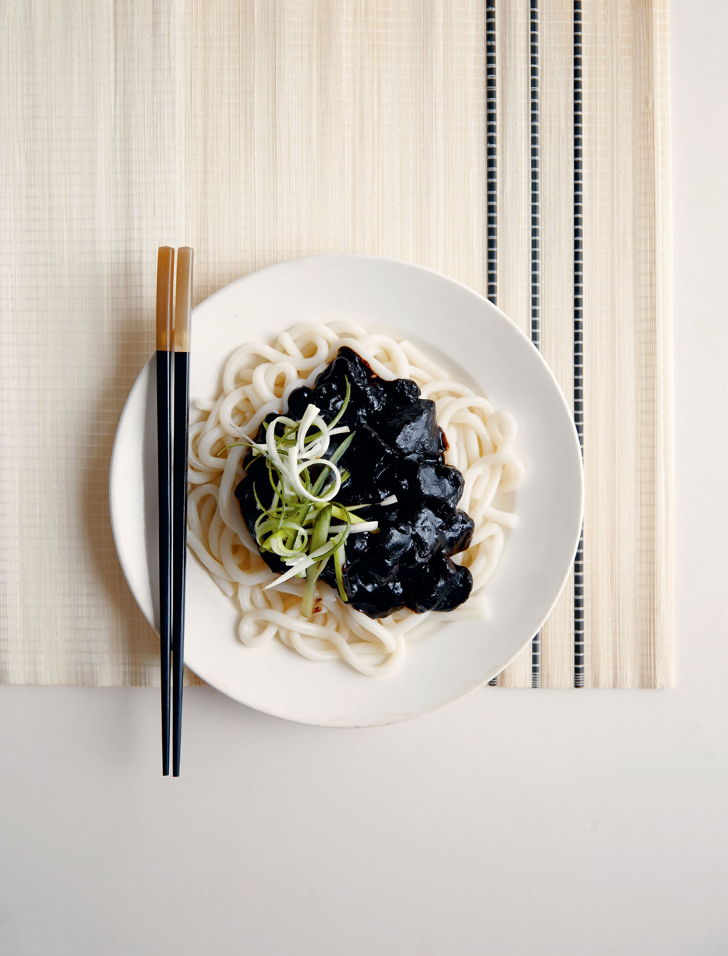 Black bean noodles