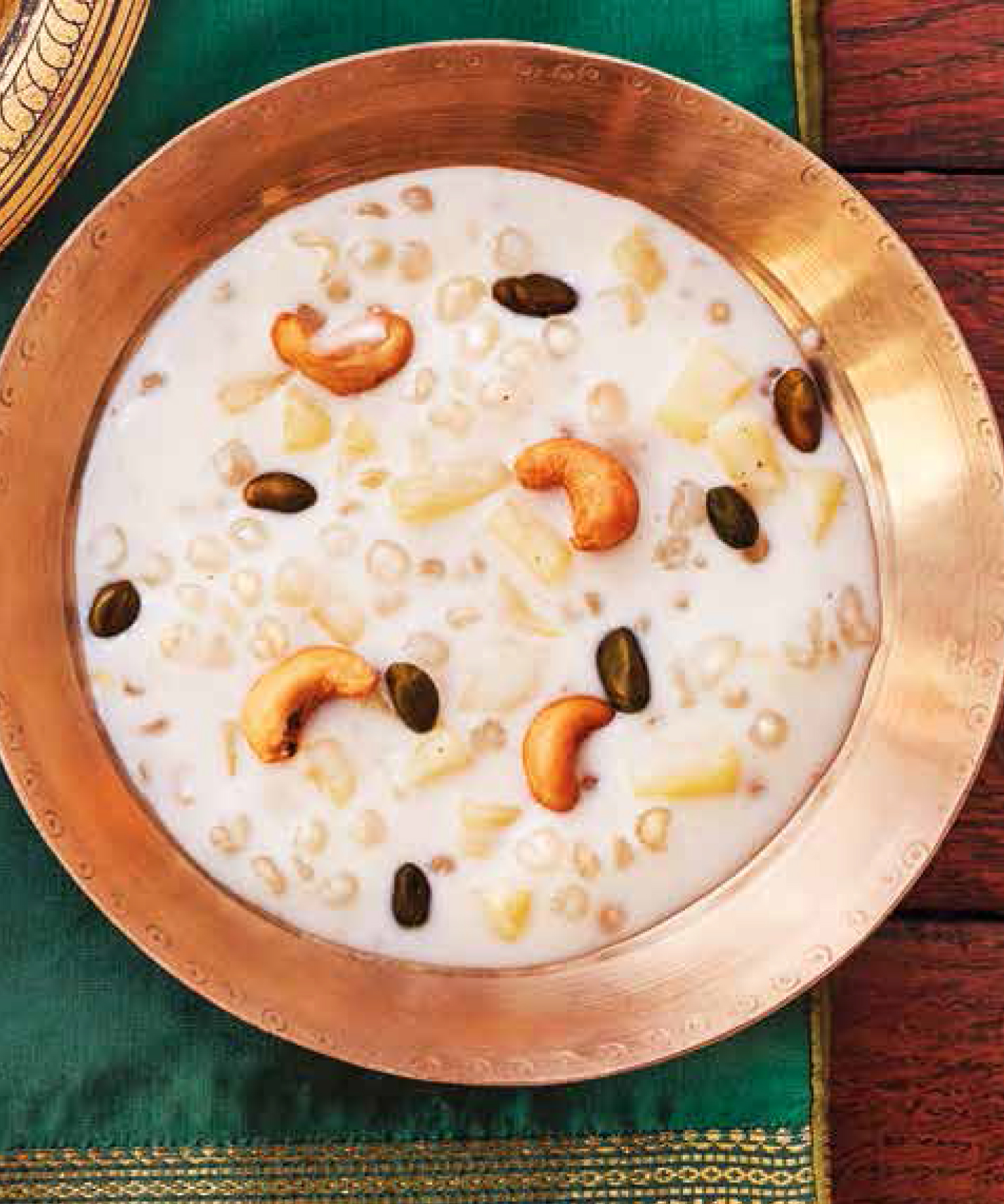 Pineapple and tapioca kheer