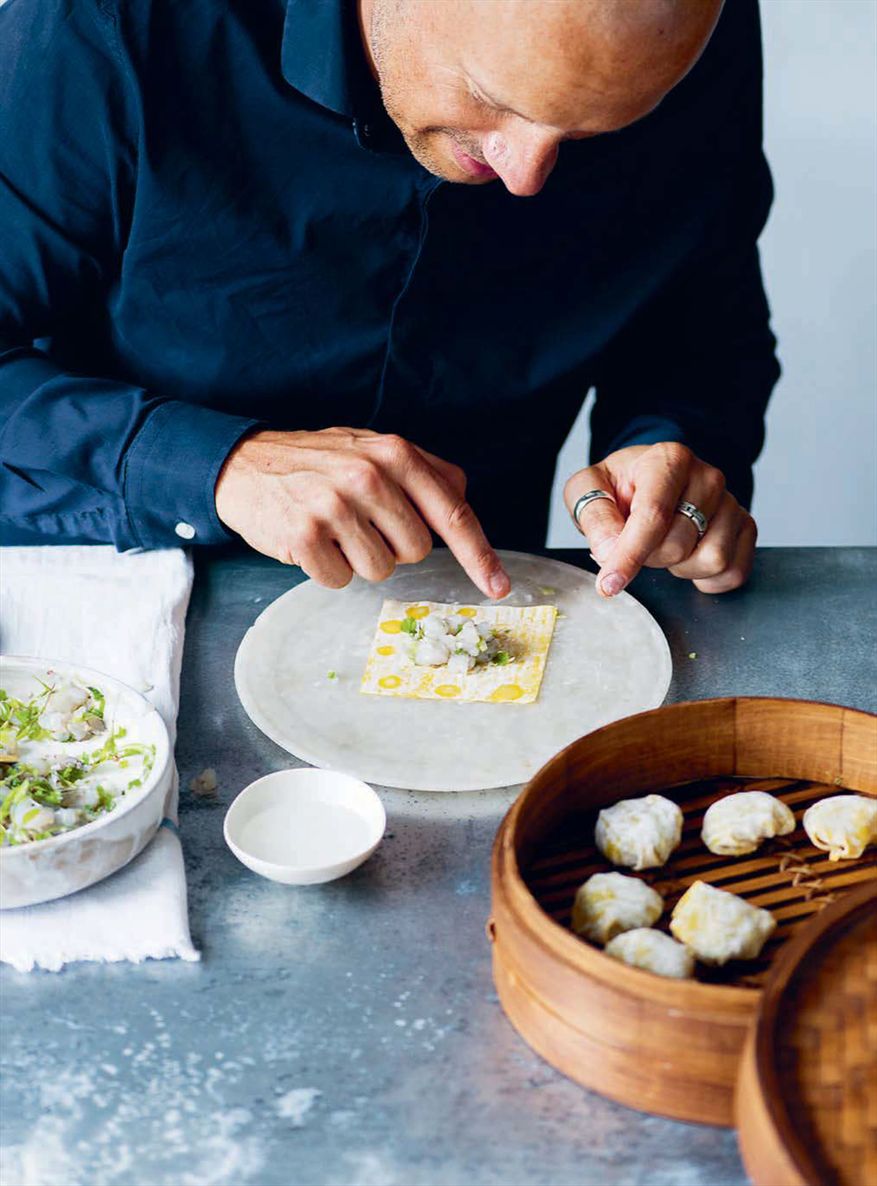 Easy homemade dim sum
