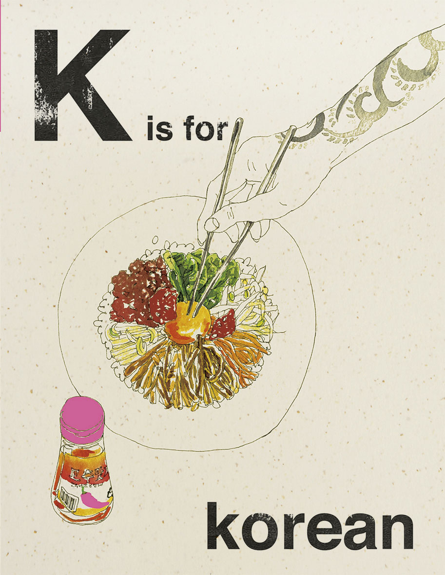 Alphabet Cooking: K is for Korean
