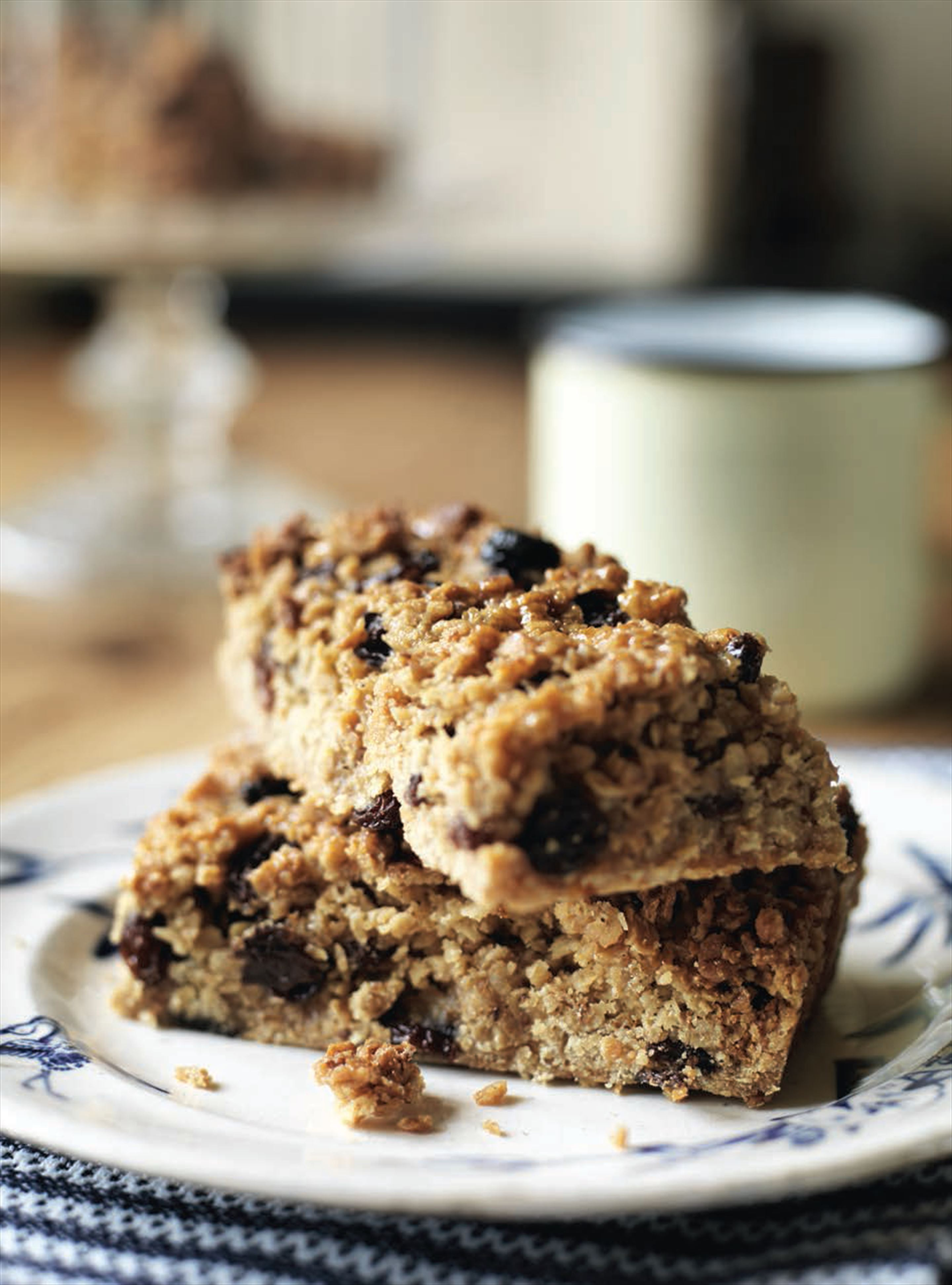 Honey and sultana flapjacks