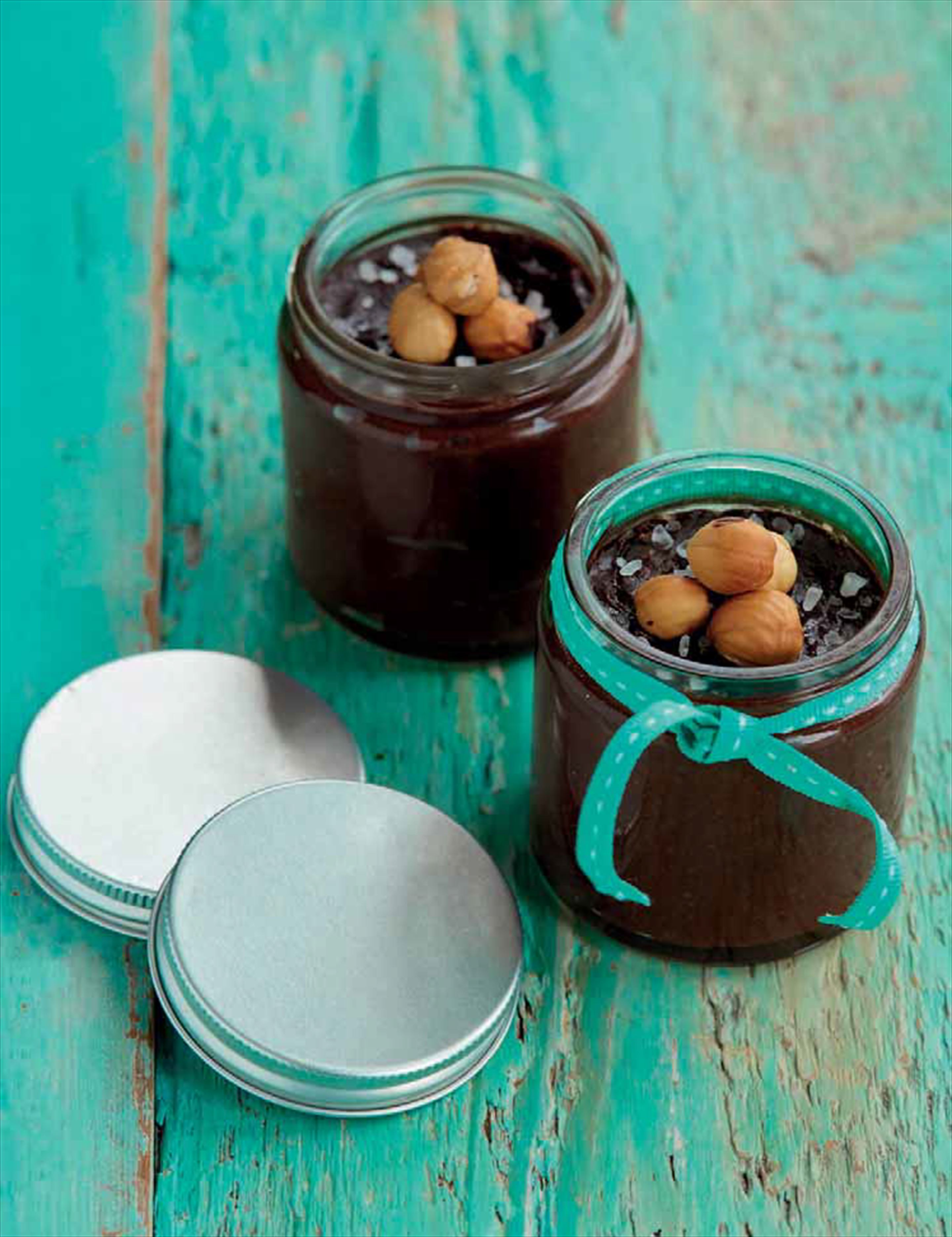 Hazelnut spread jars