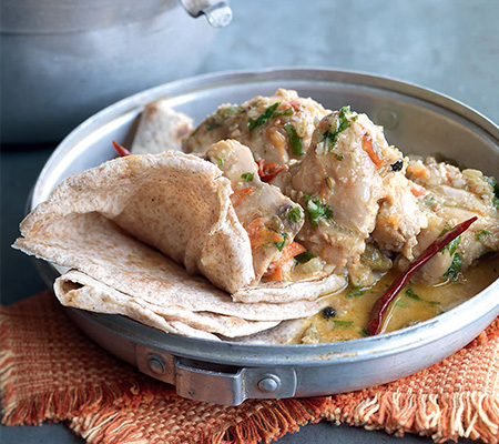 Anjum Anand chicken curry