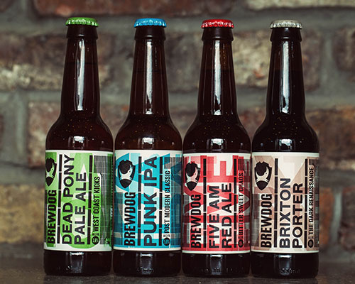 BrewDog food craft beer match