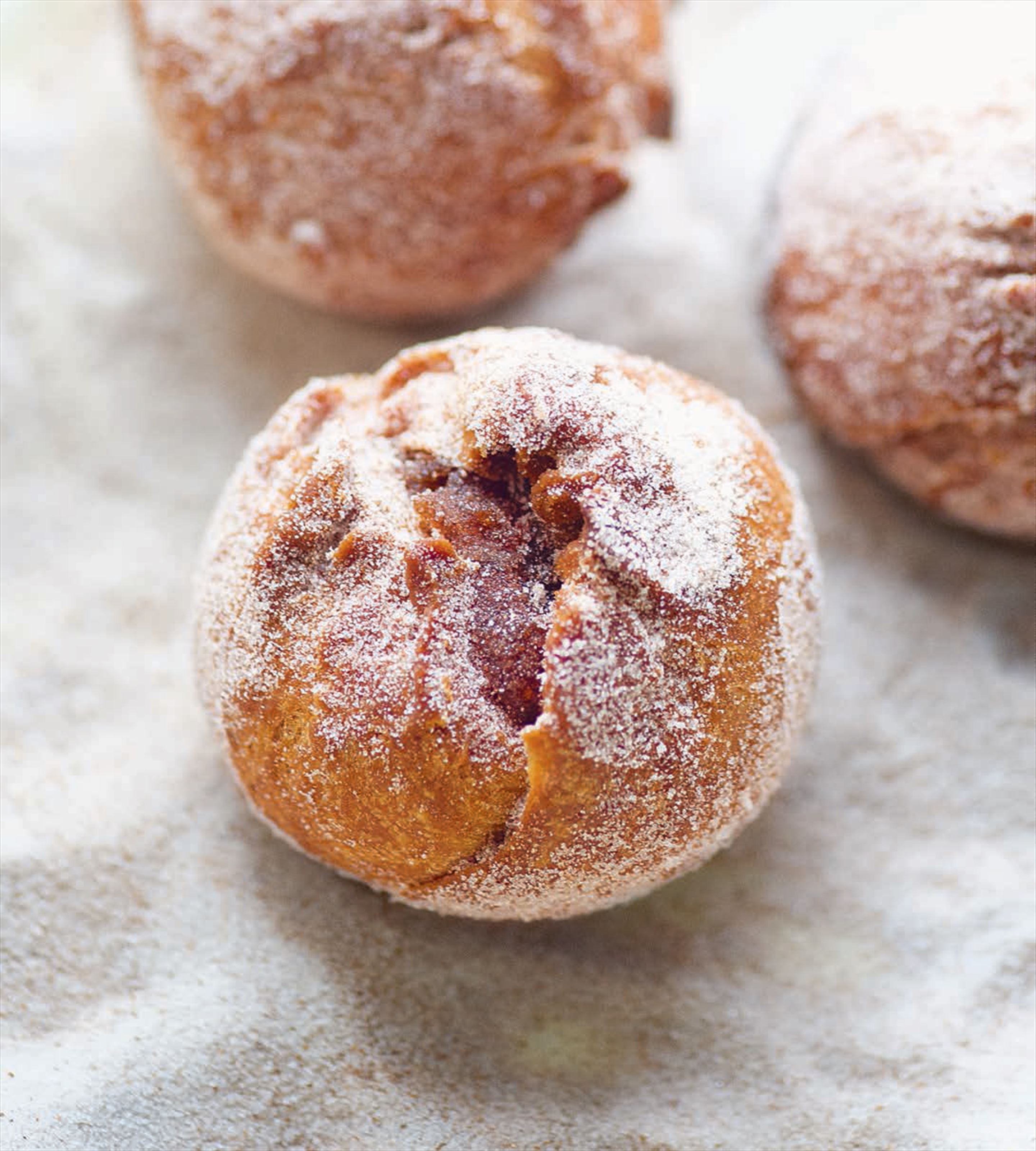 Quince doughnuts