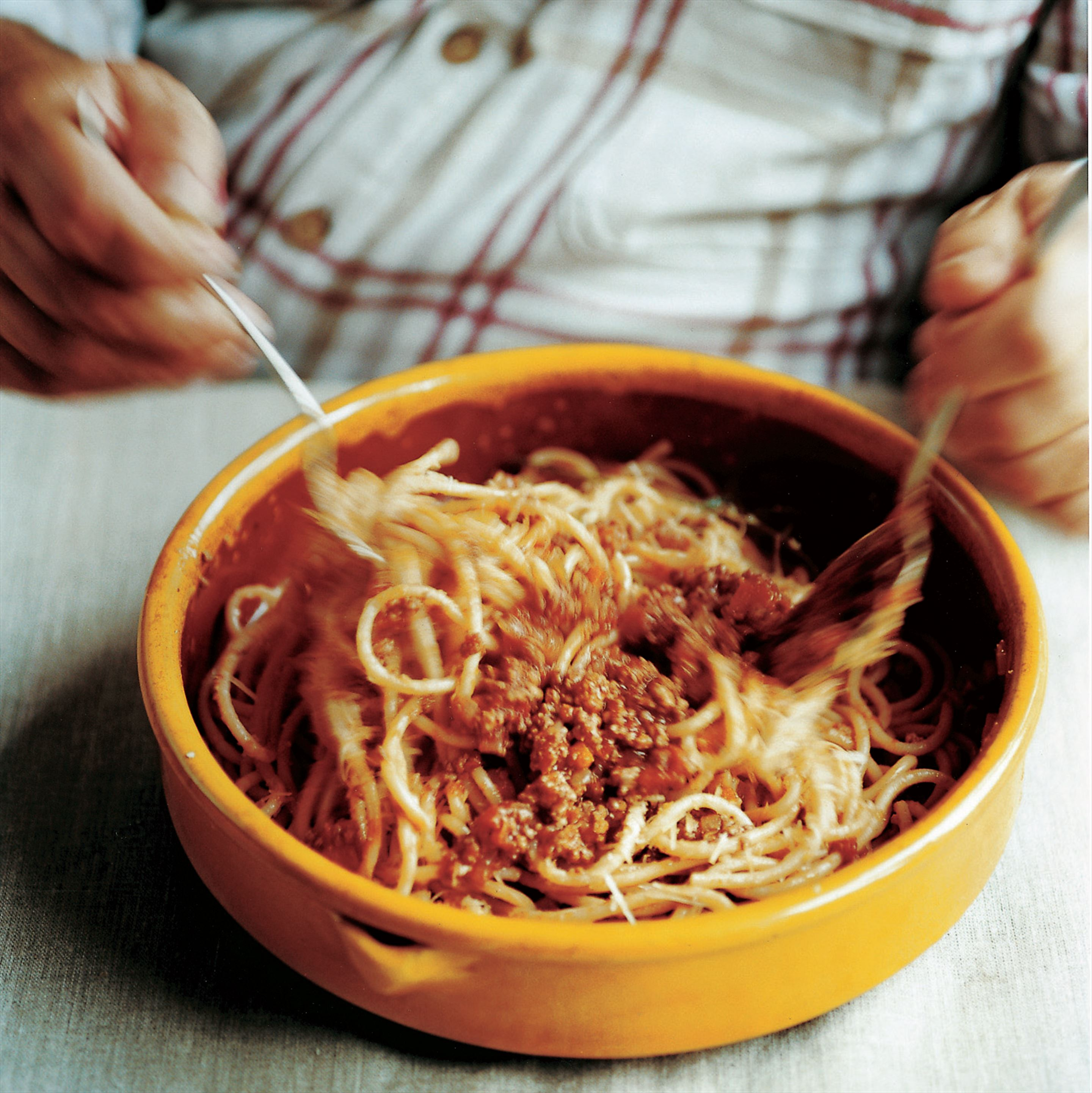 Tuscan pasta with pork sauce