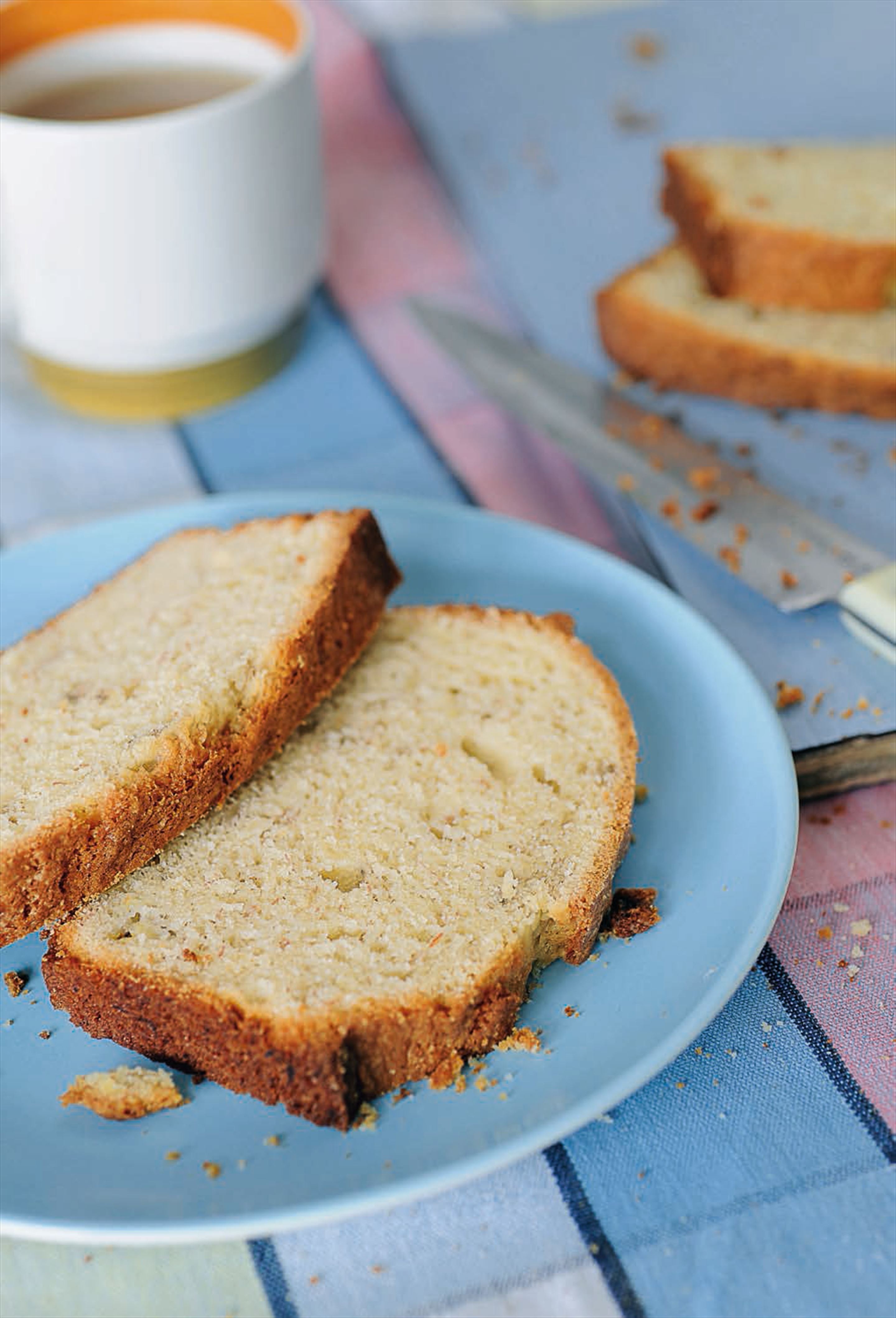 Standing-on-your-head banana bread
