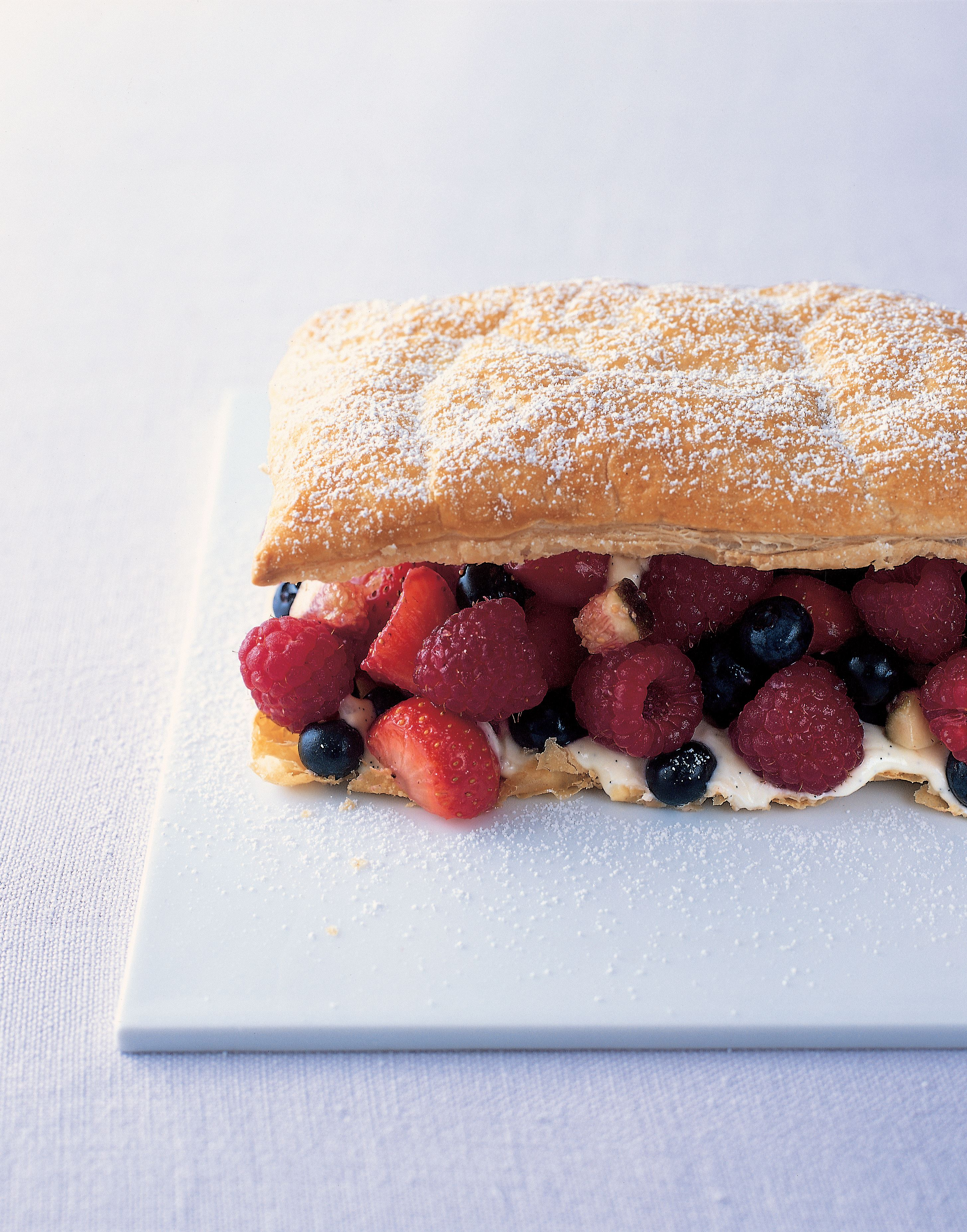 Fruit mille-feuille