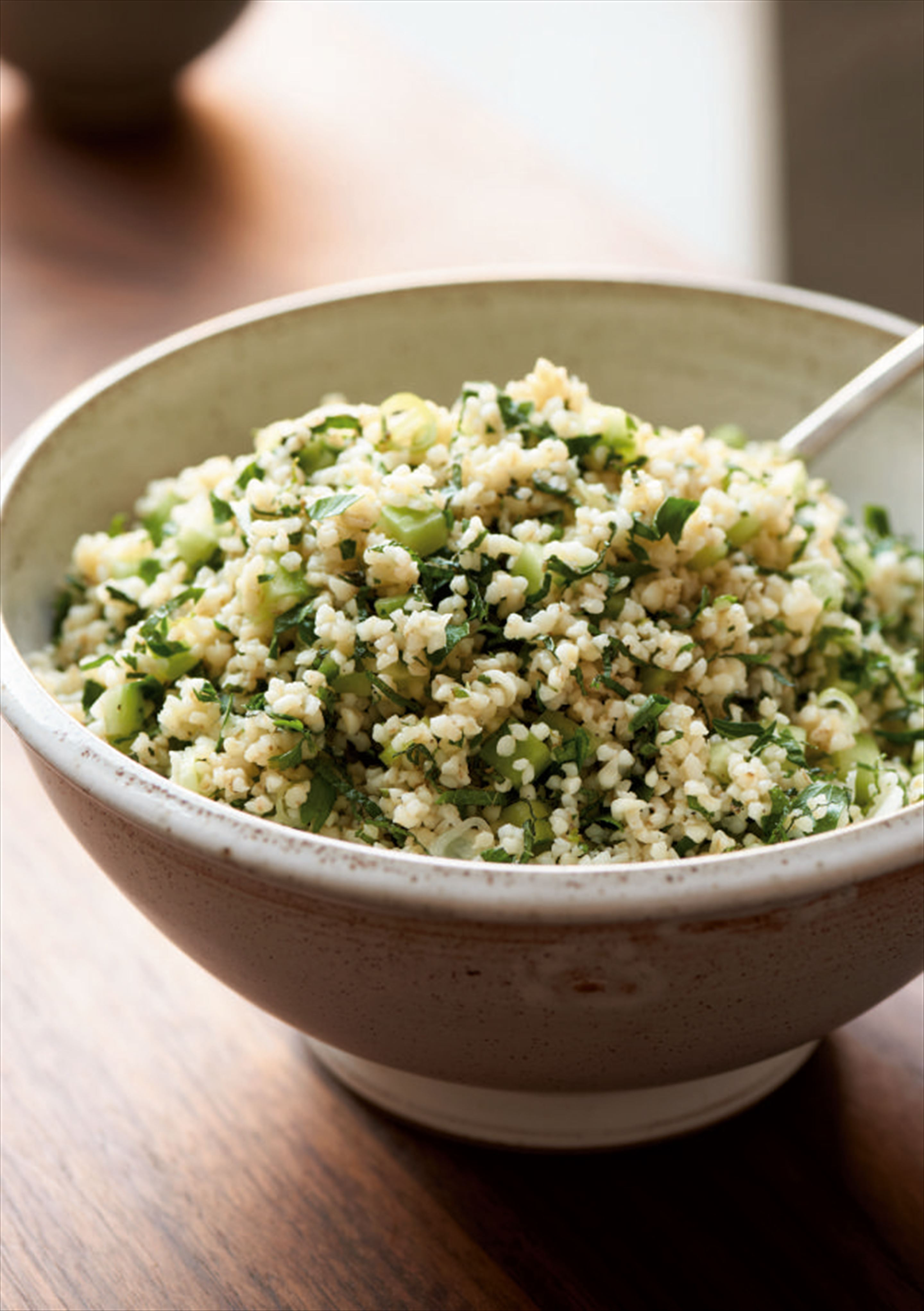 Mum's bulgar wheat salad
