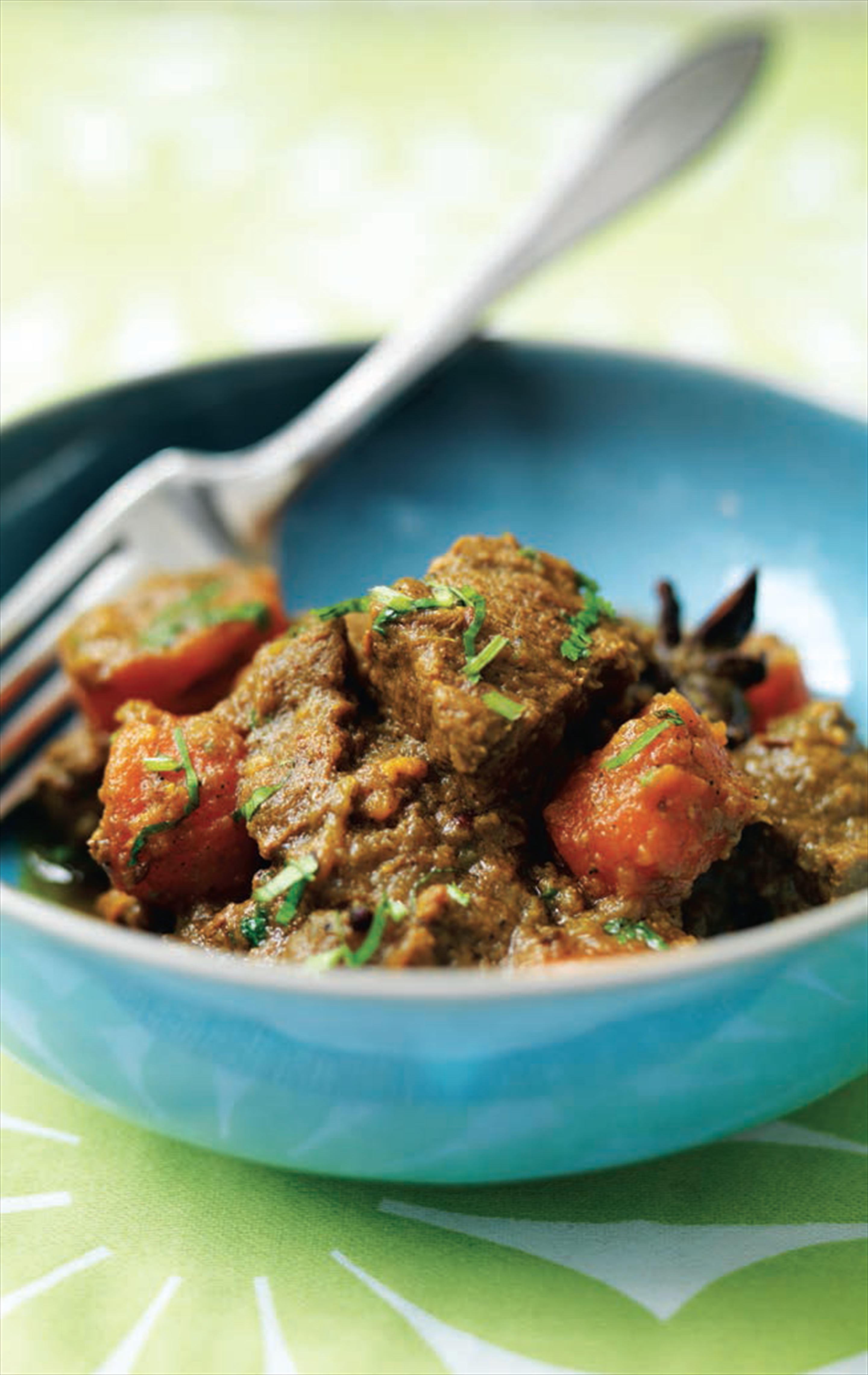 Paradise beef curry (Caribbean)