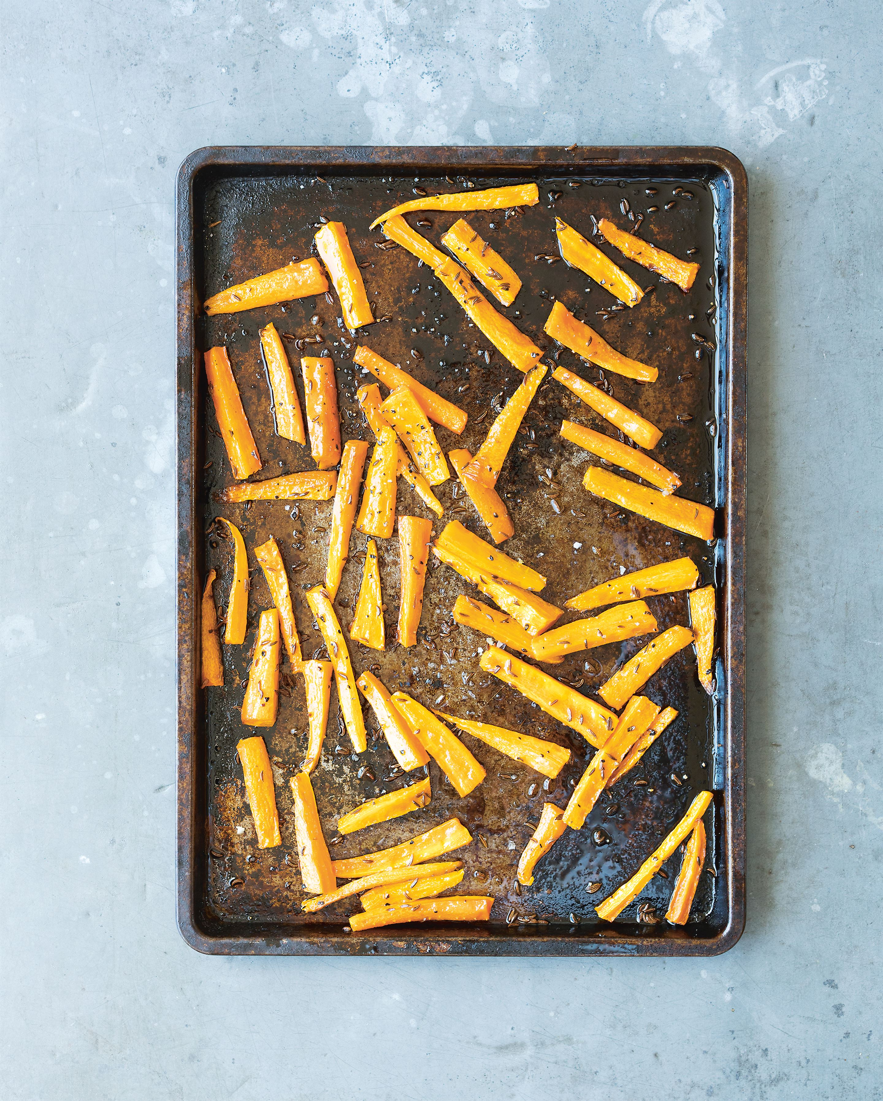 Carrot caraway fries