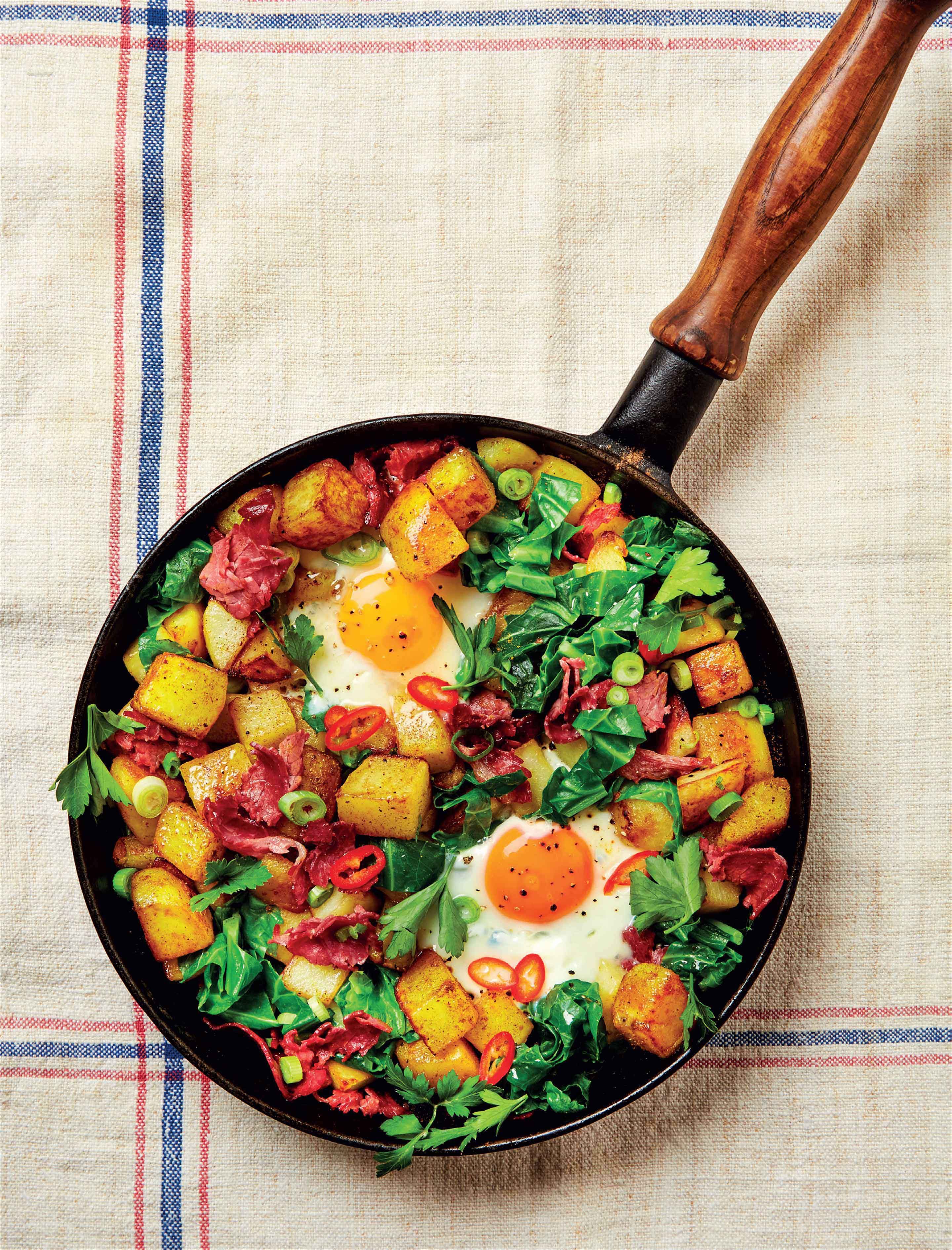 Spiced hash
