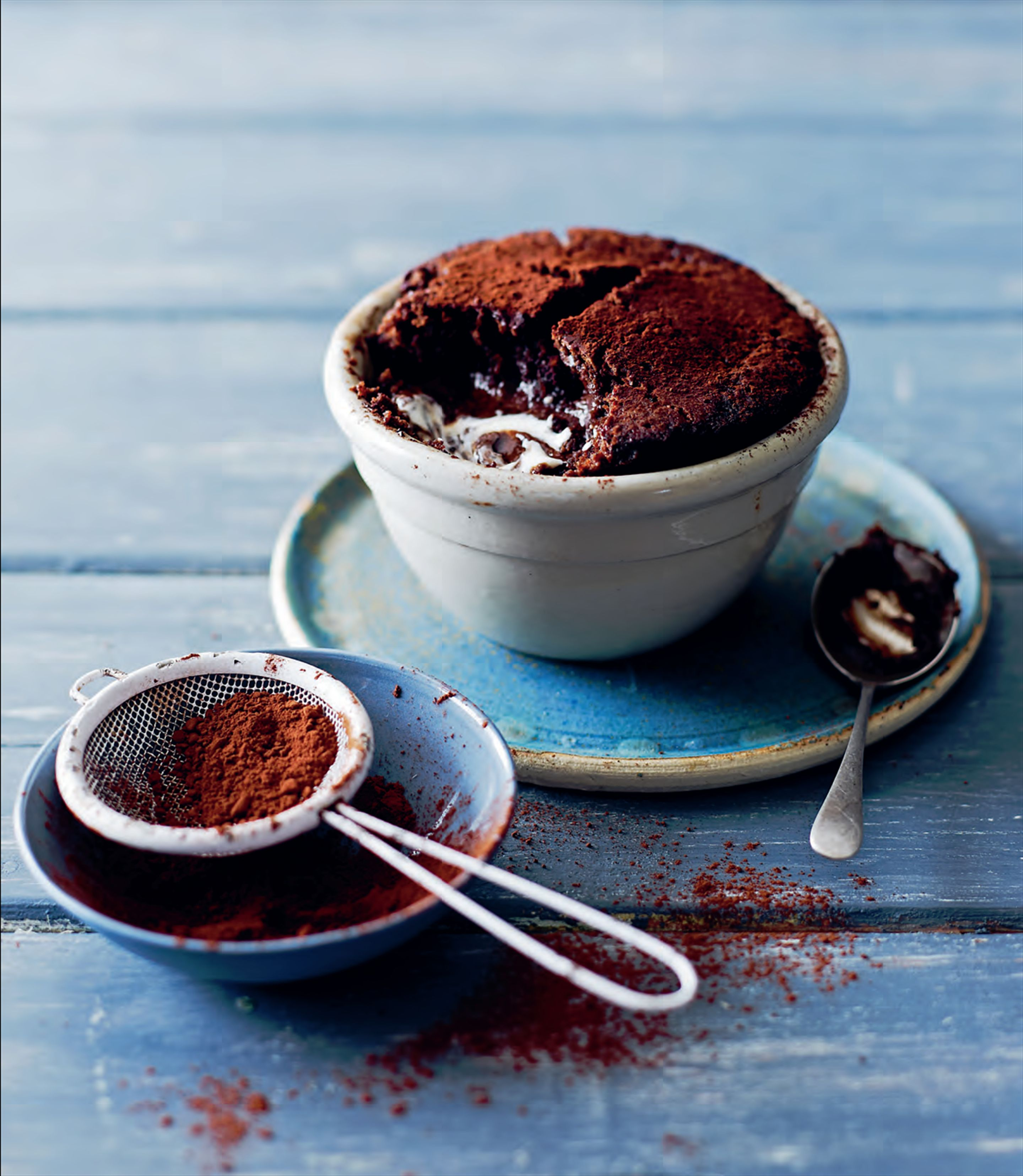 Chocolate stout puddings