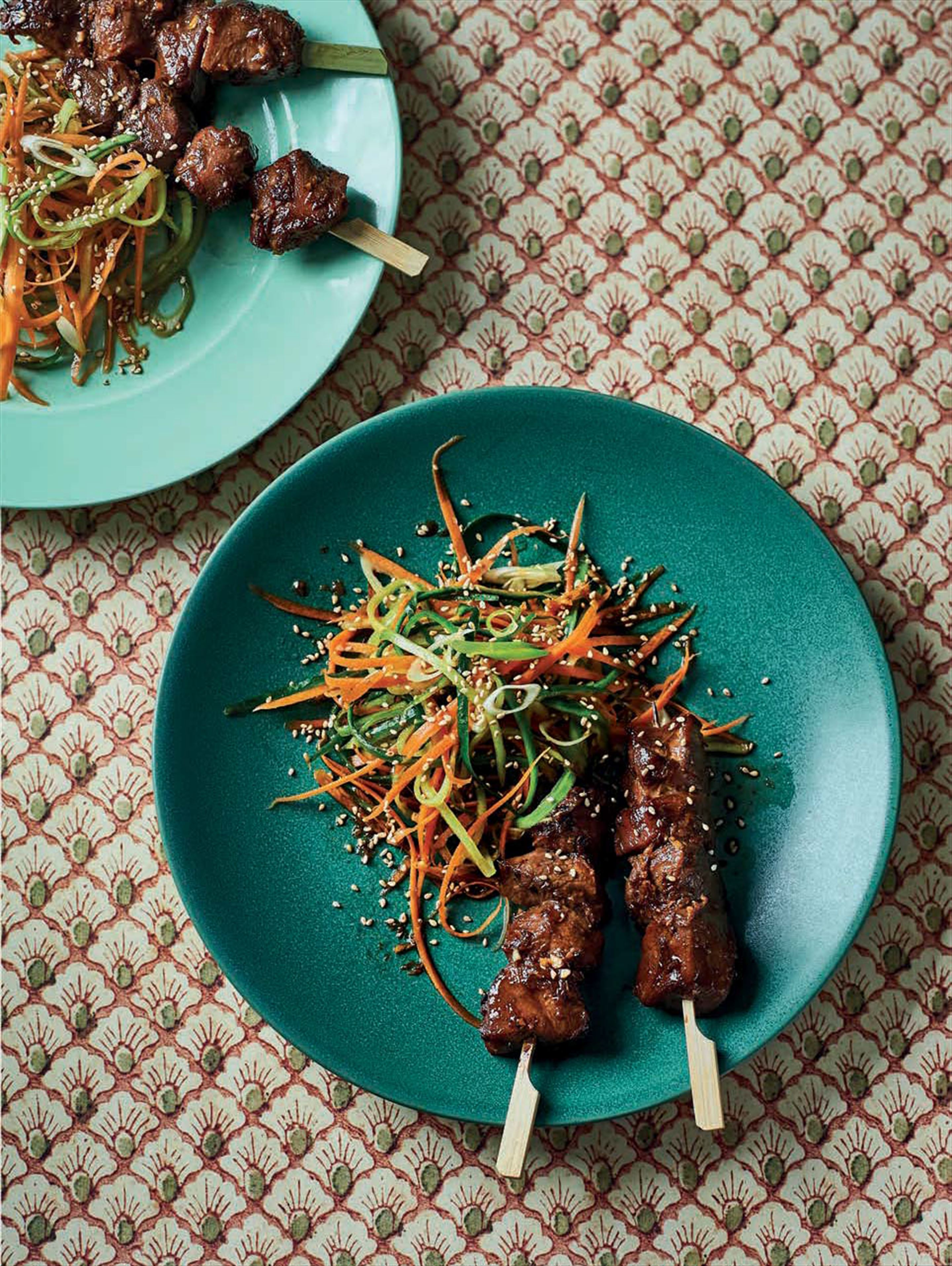 Sticky chinese five - spice duck