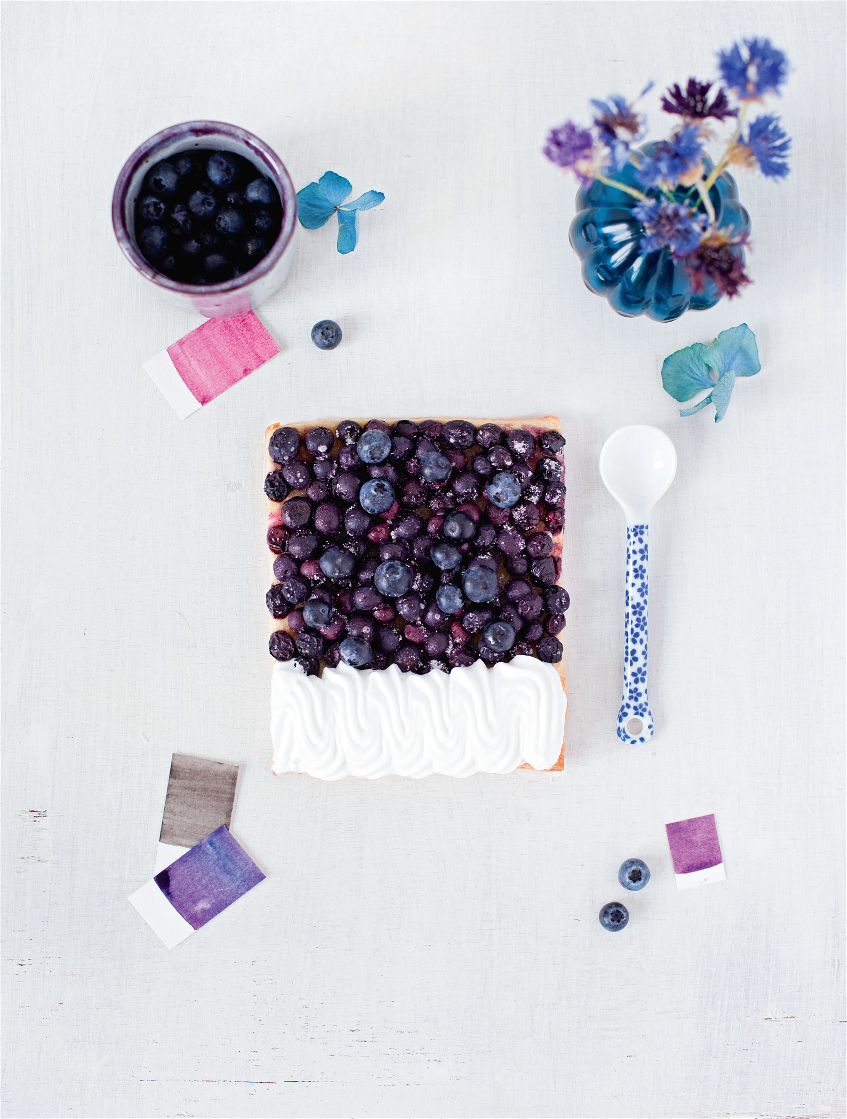 Blueberry – meringue