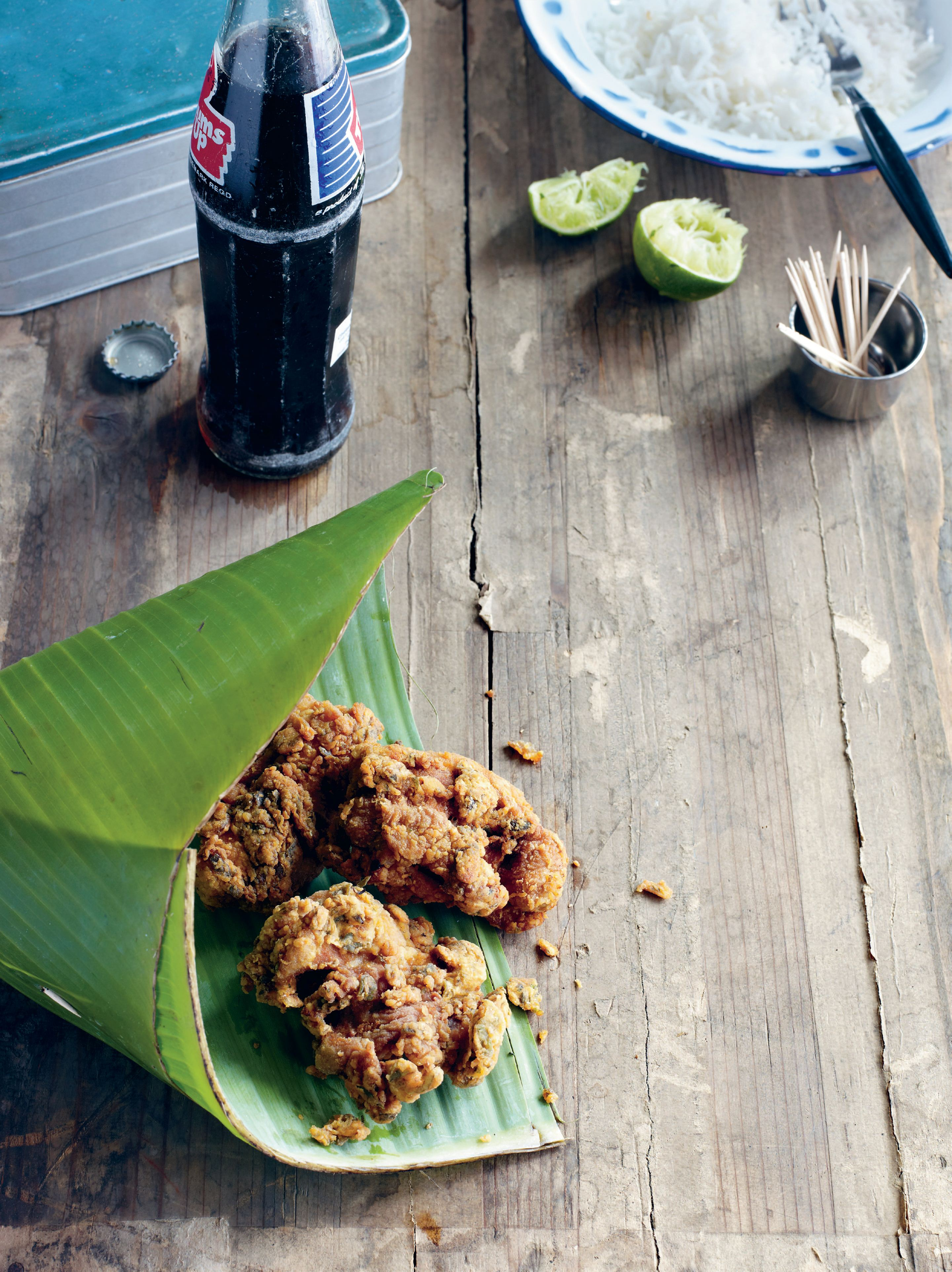 South Indian fried chicken
