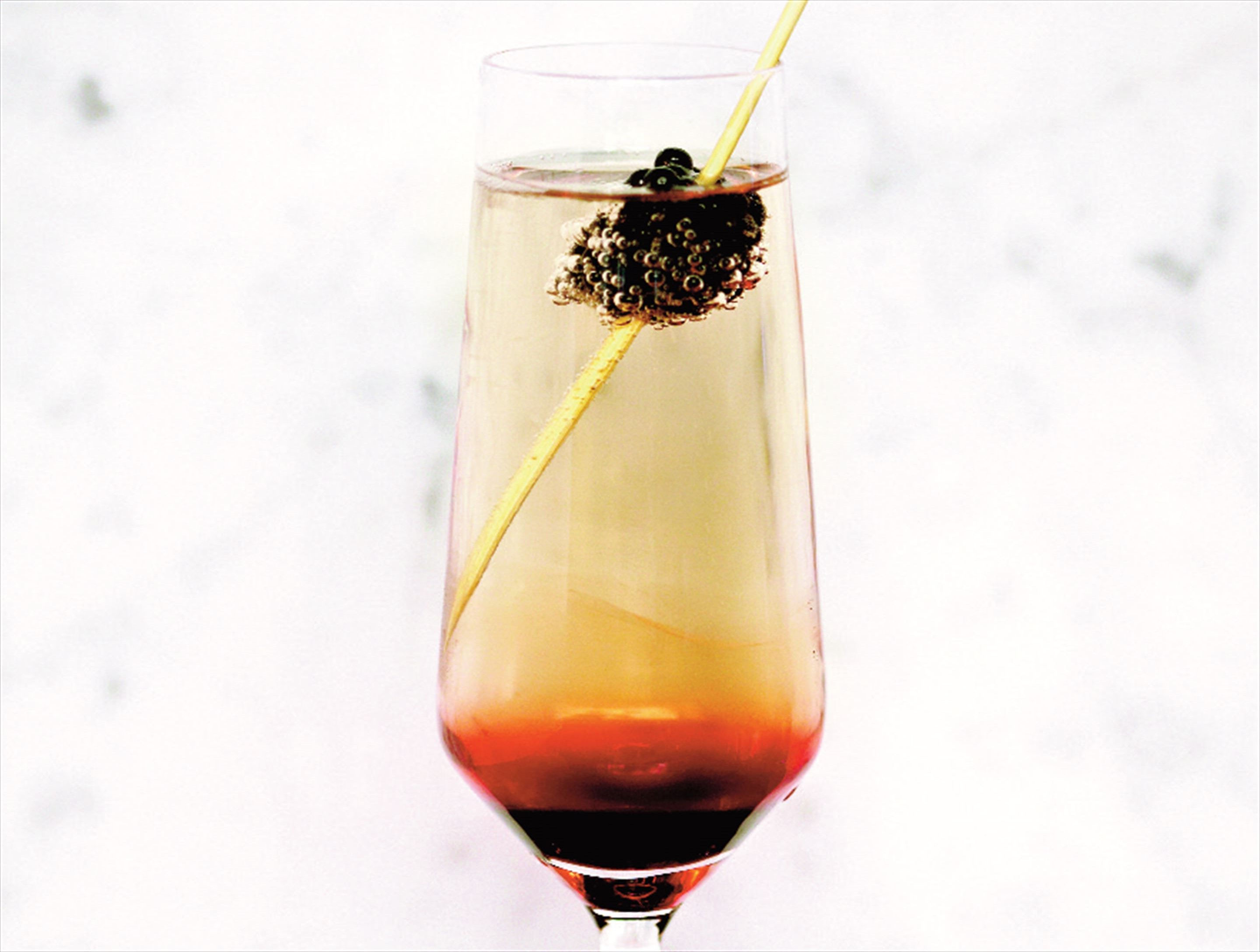 Spiced kir royale