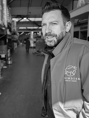 Eating on the job: Heath Blackford, Operations Manager at Brindisa