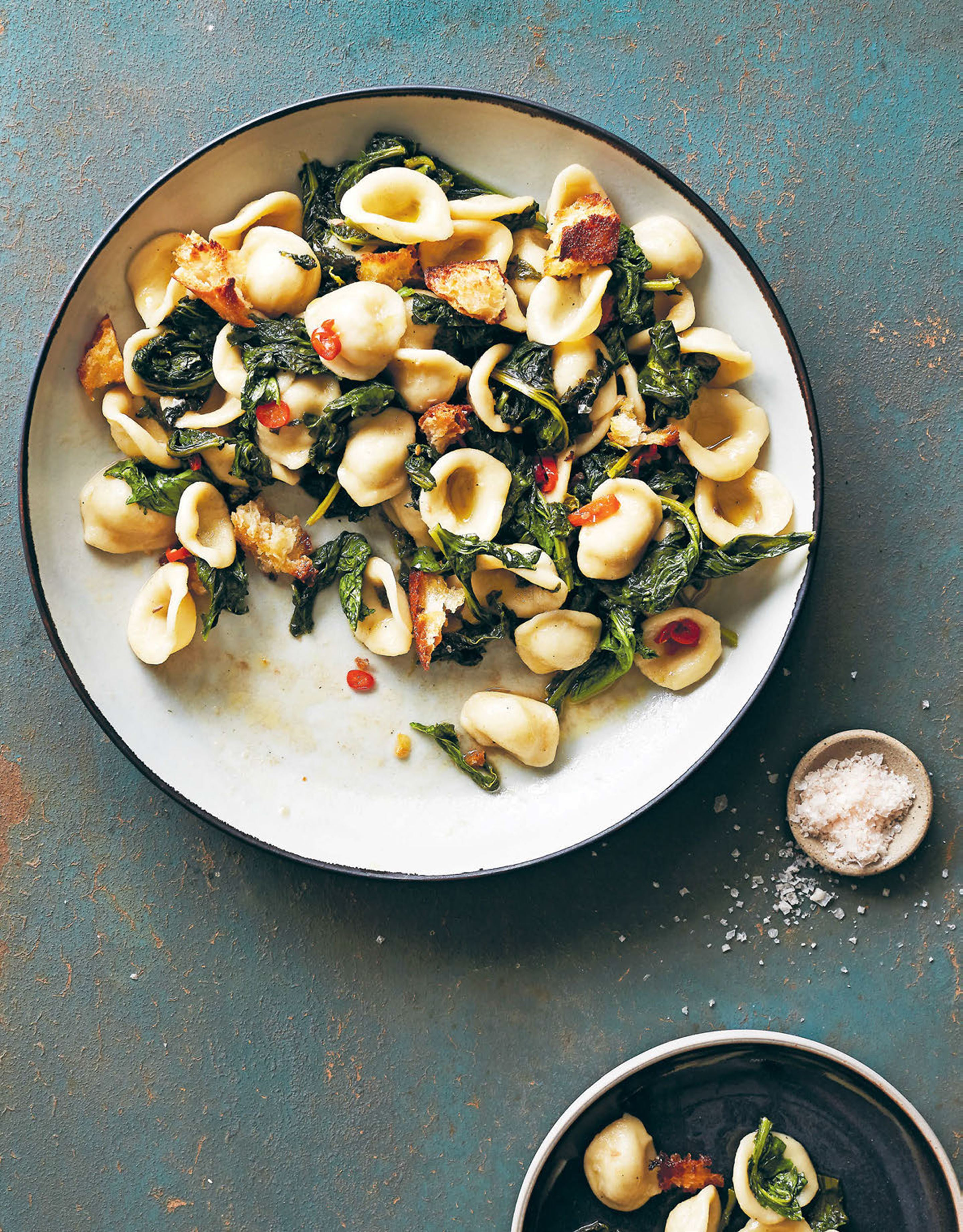 Orecchiette with broccoli rabe
