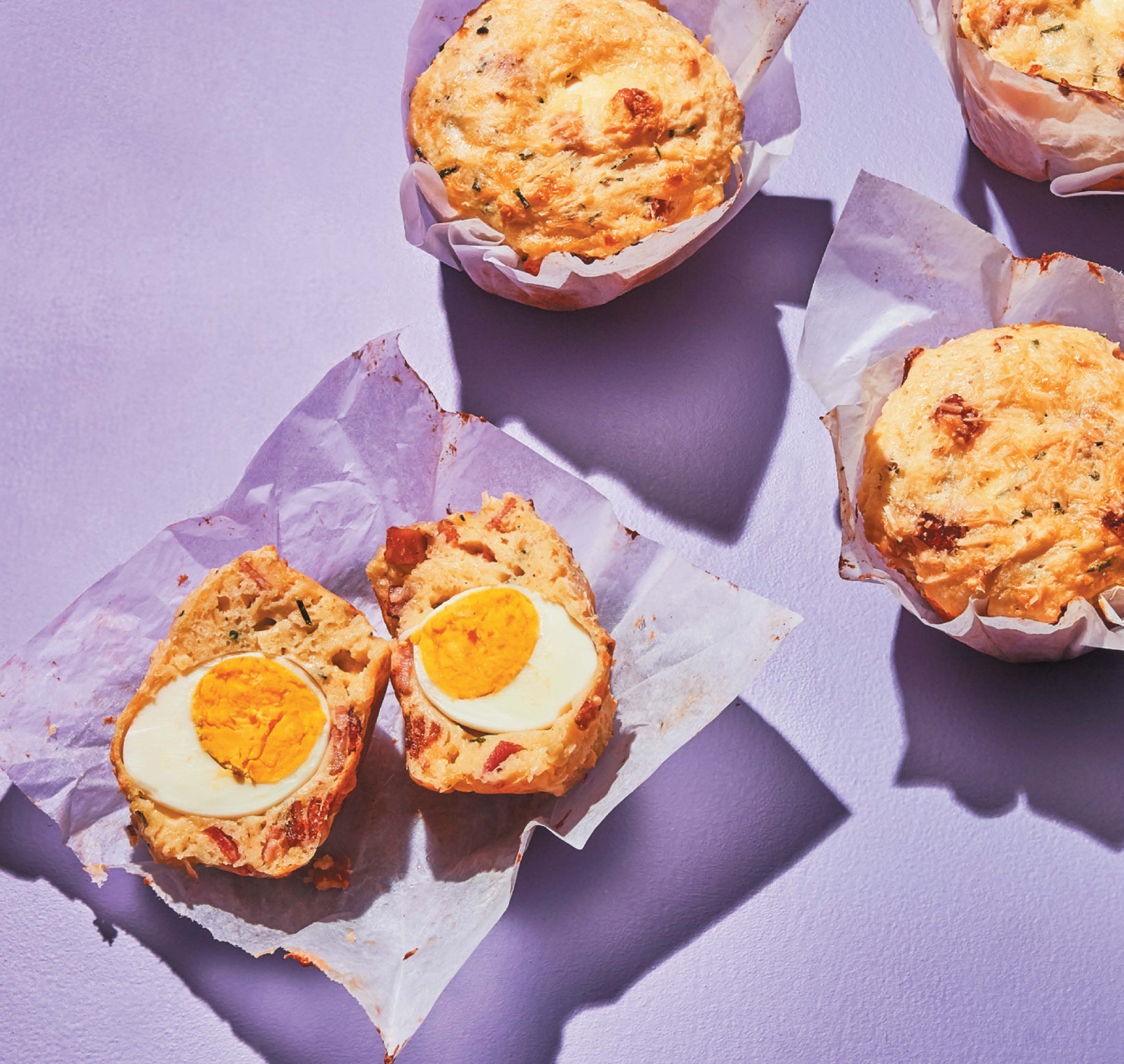 Scotch egg potato muffins