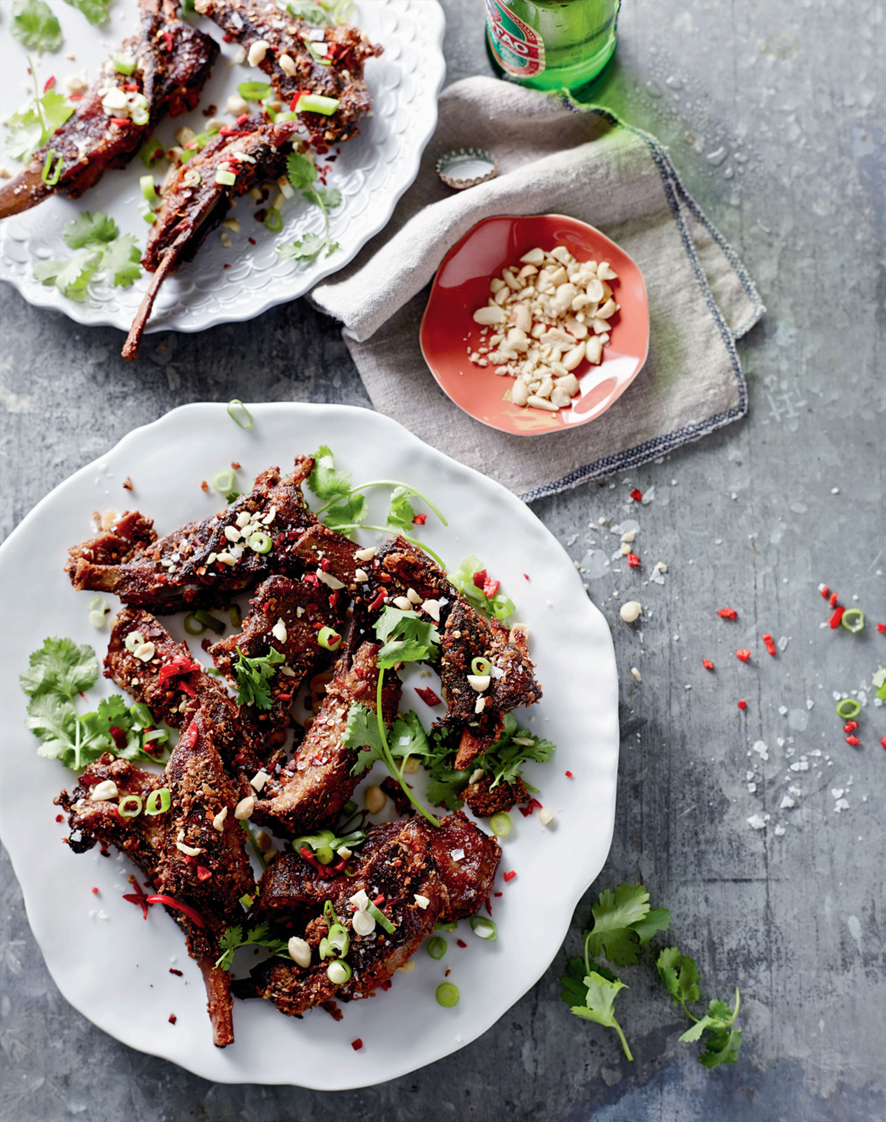 Spicy cumin lamb ribs