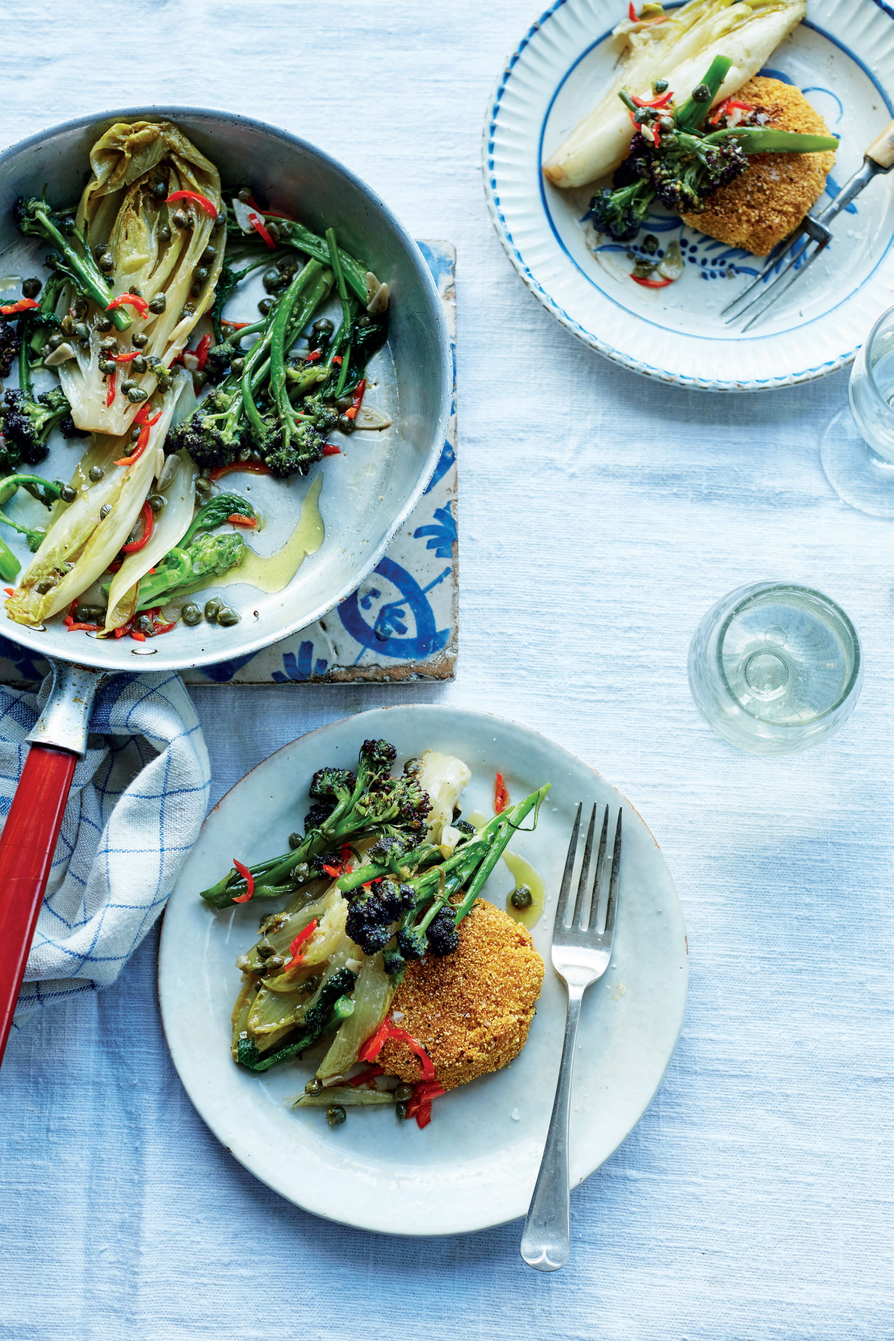 Cooking vegetables the Carluccio way