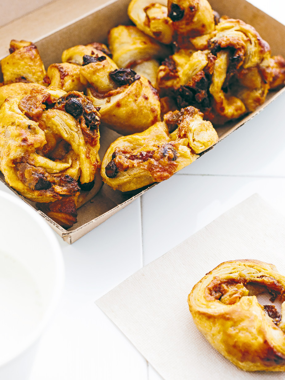 Sweet potato rugelach