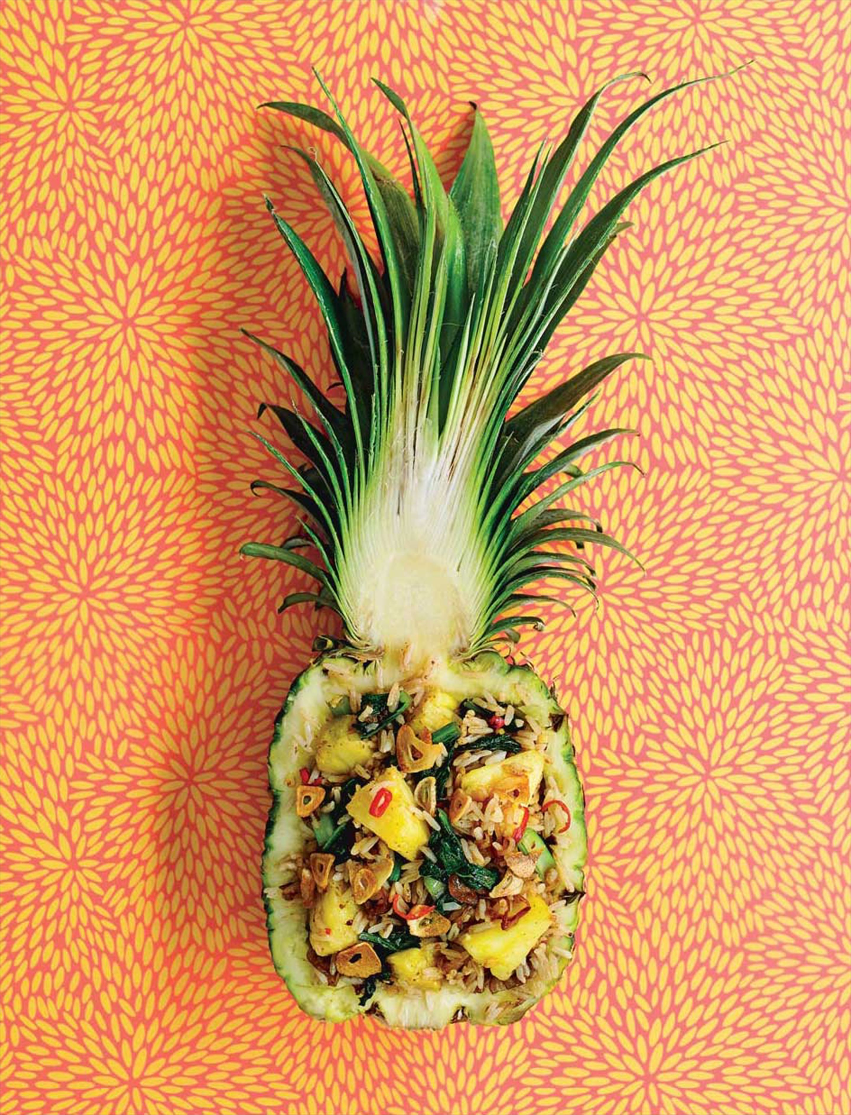 Pineapple, ginger & xo fried rice