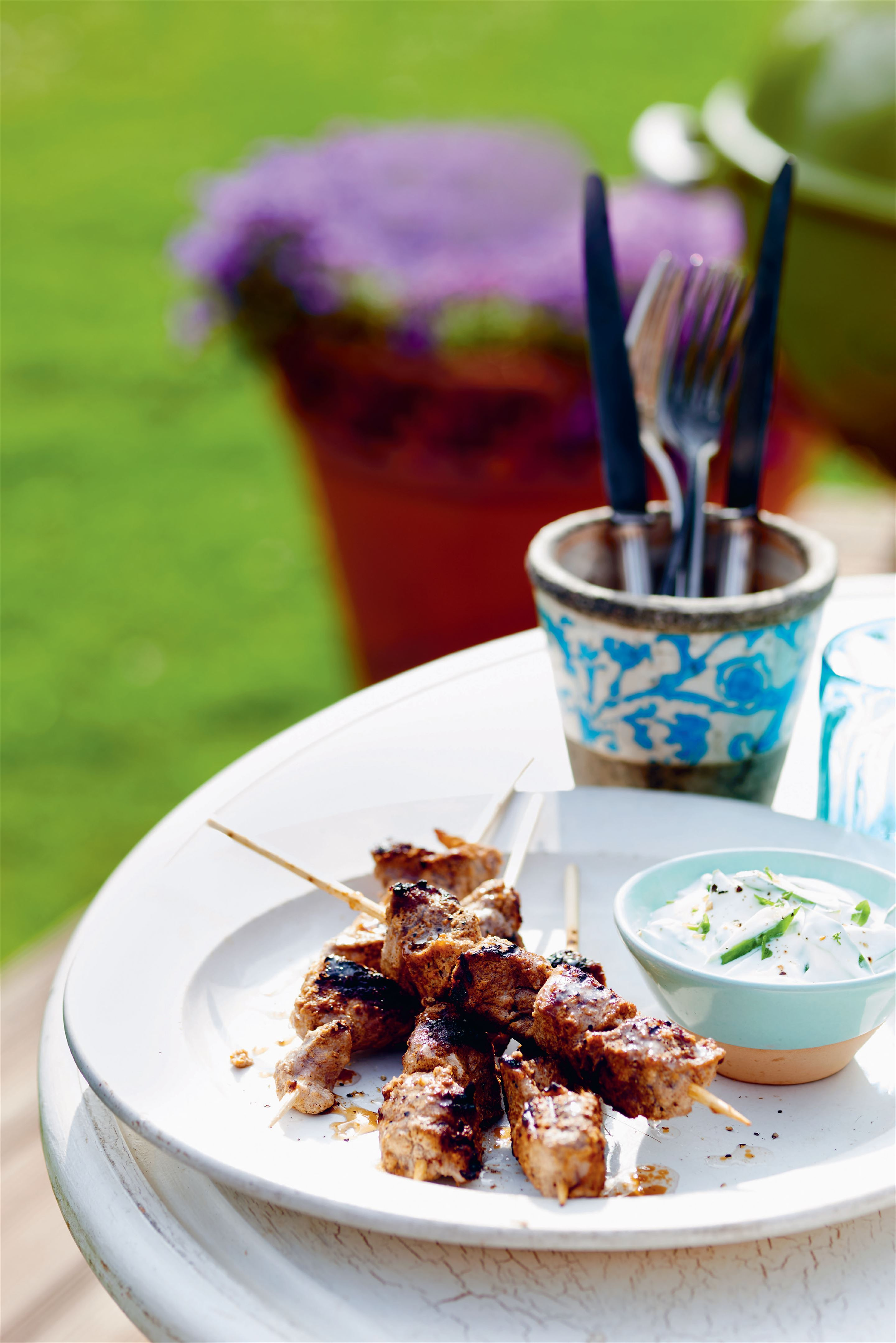 Barbecue spiced lamb