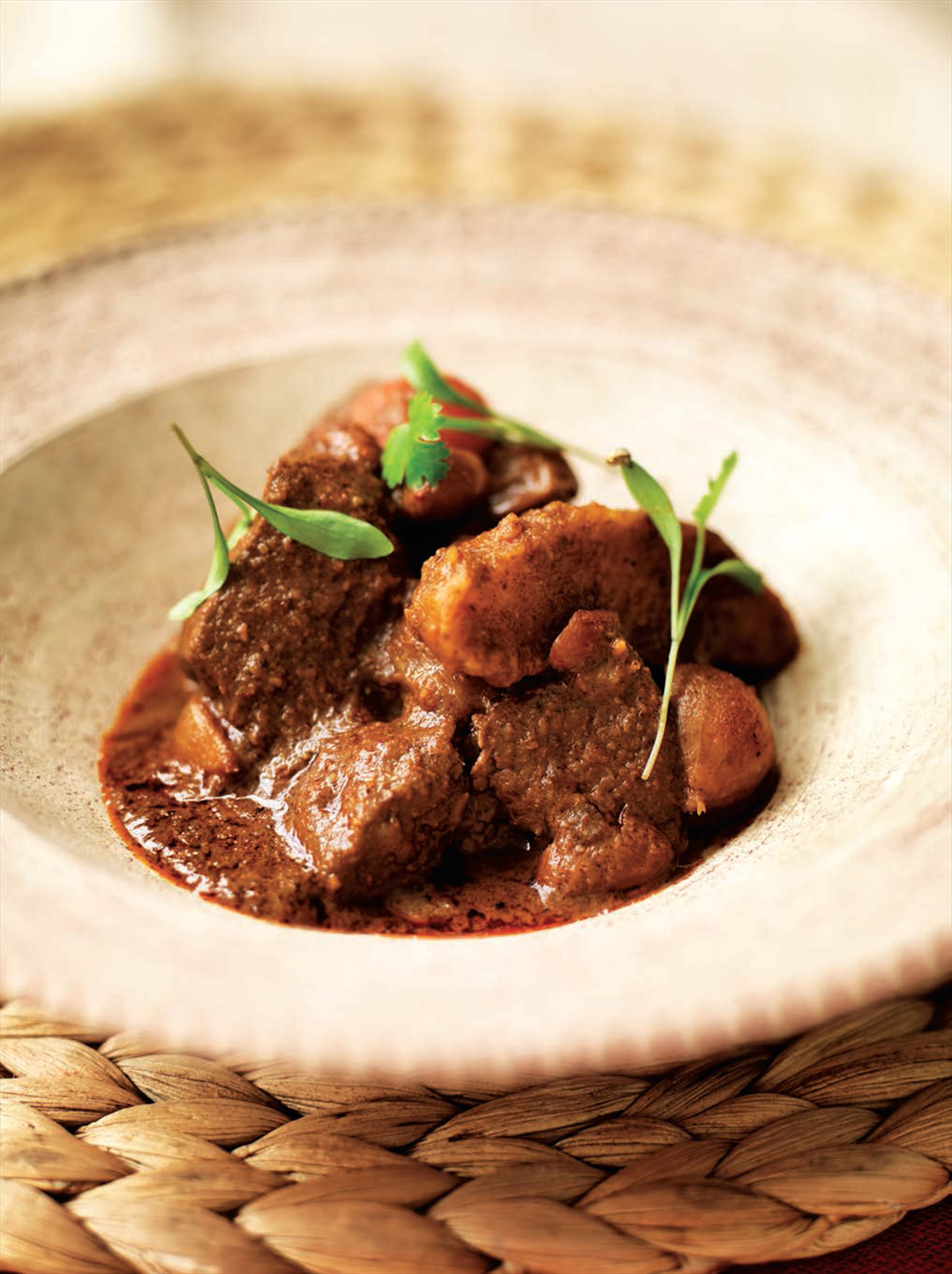 Mussaman beef curry (Thailand)