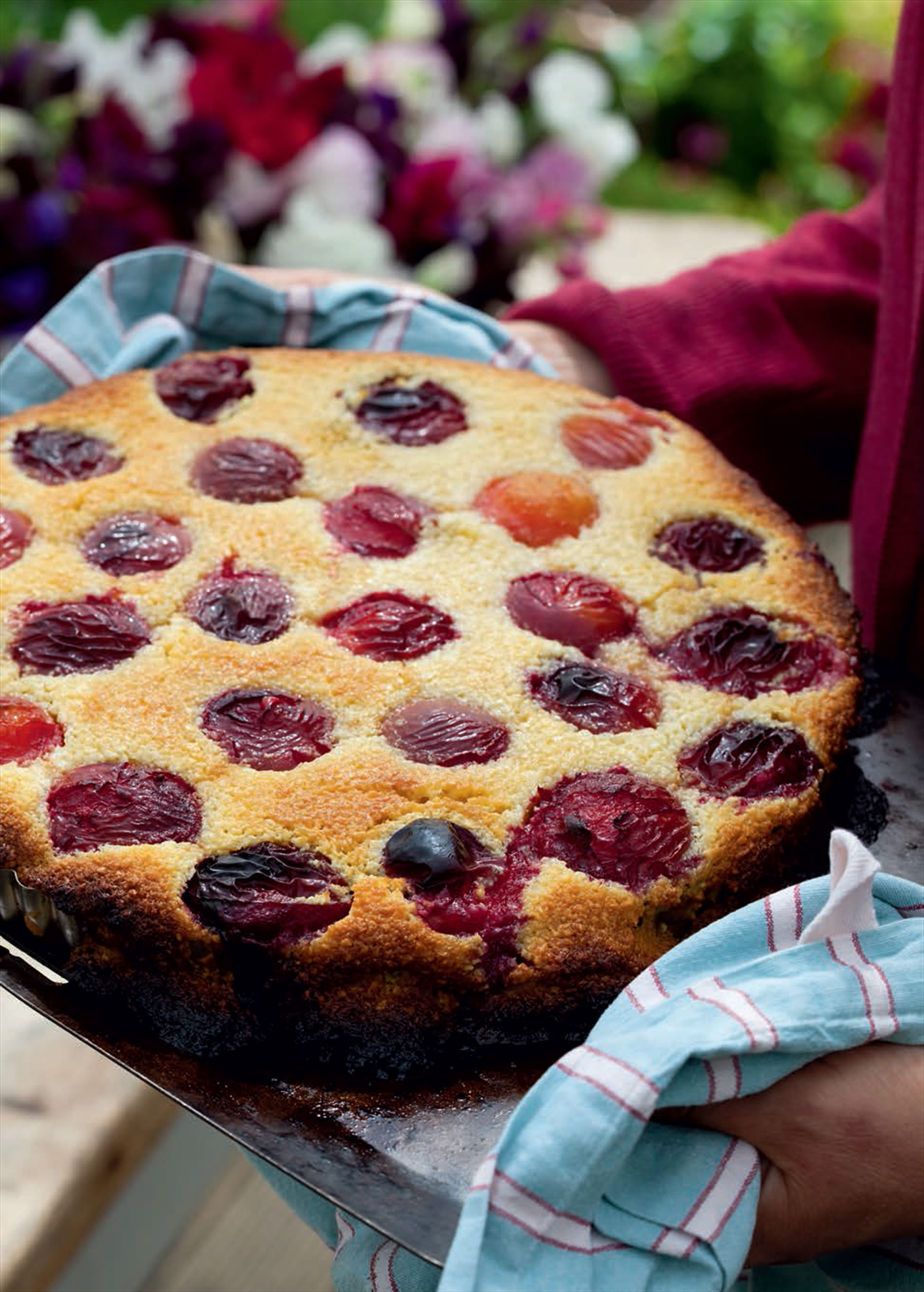 Party plum tart