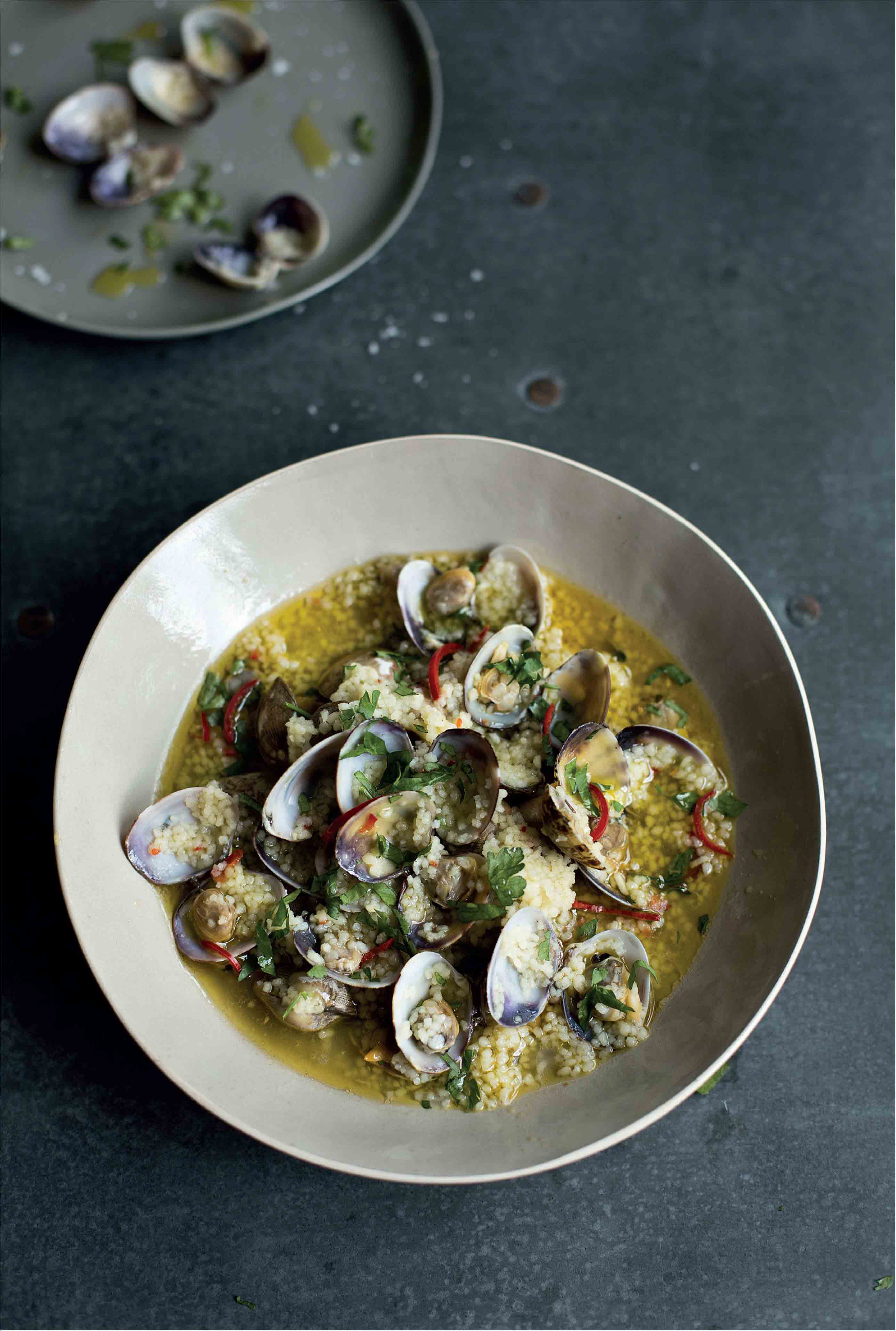 Sicilian couscous with clams