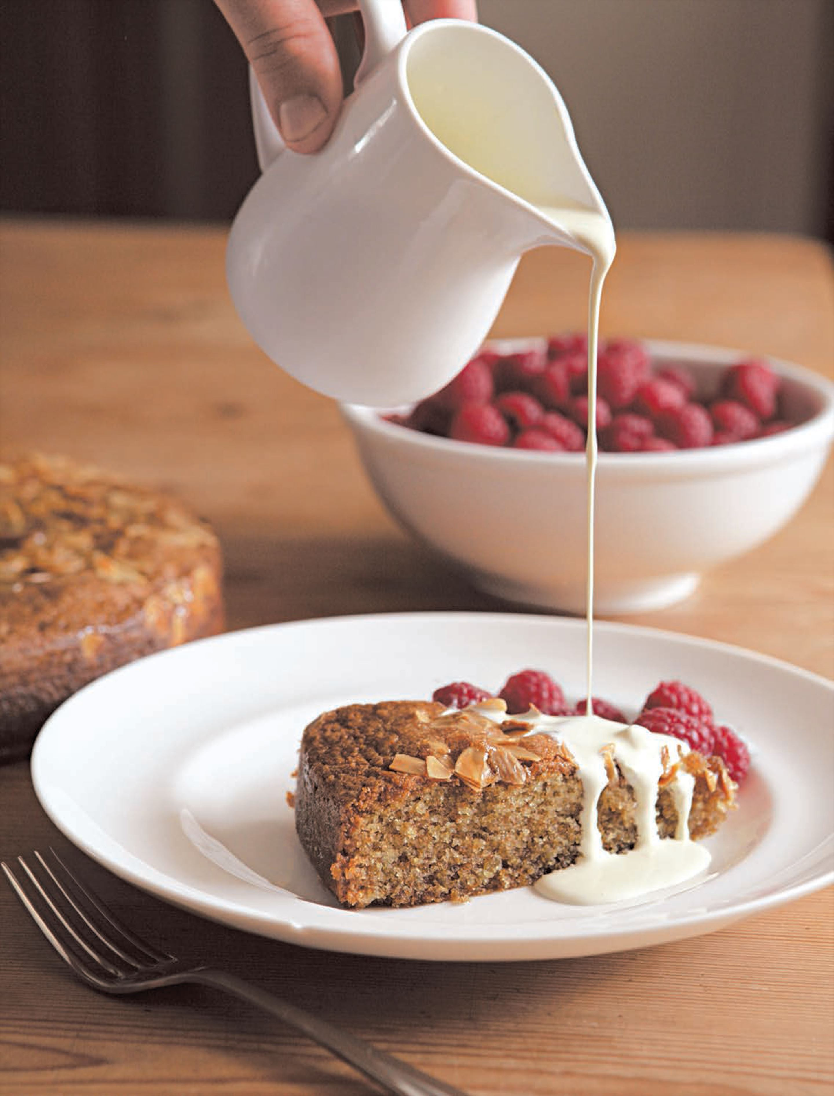 Honey wholemeal cake